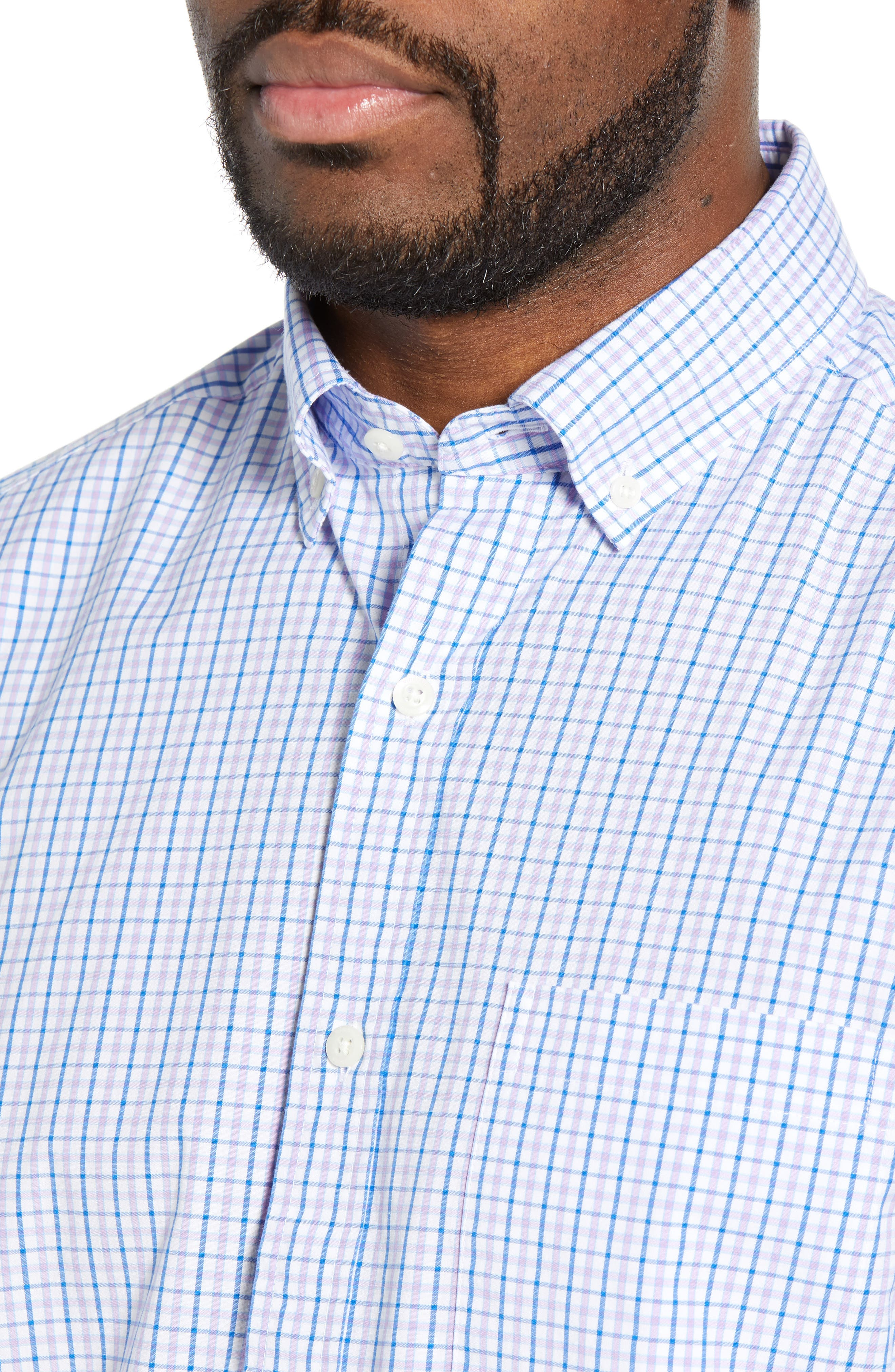VINEYARD VINES, Tucker Regular Fit Balter Tattersall Sport Shirt, Alternate thumbnail 2, color, SEA URCHIN