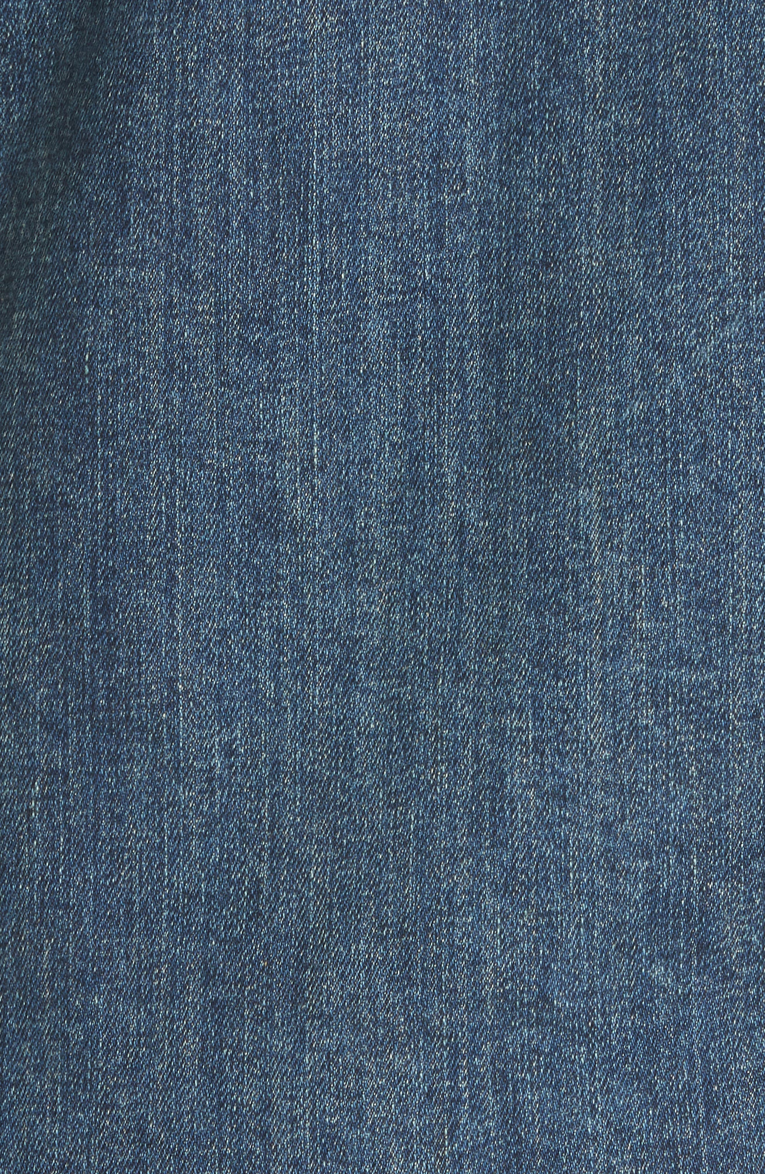NILI LOTAN, Travis Denim Shirt, Alternate thumbnail 5, color, 403