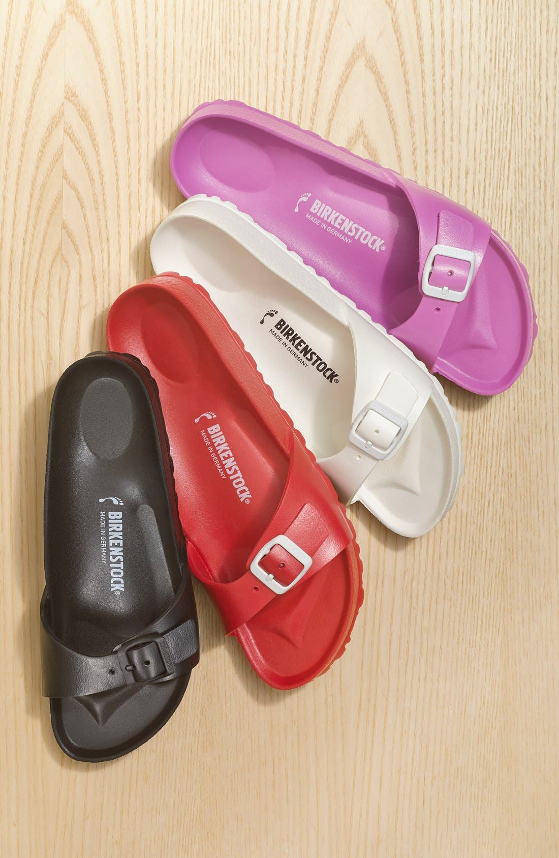 BIRKENSTOCK, 'Essentials - Madrid' Slide Sandal, Alternate thumbnail 2, color, 250