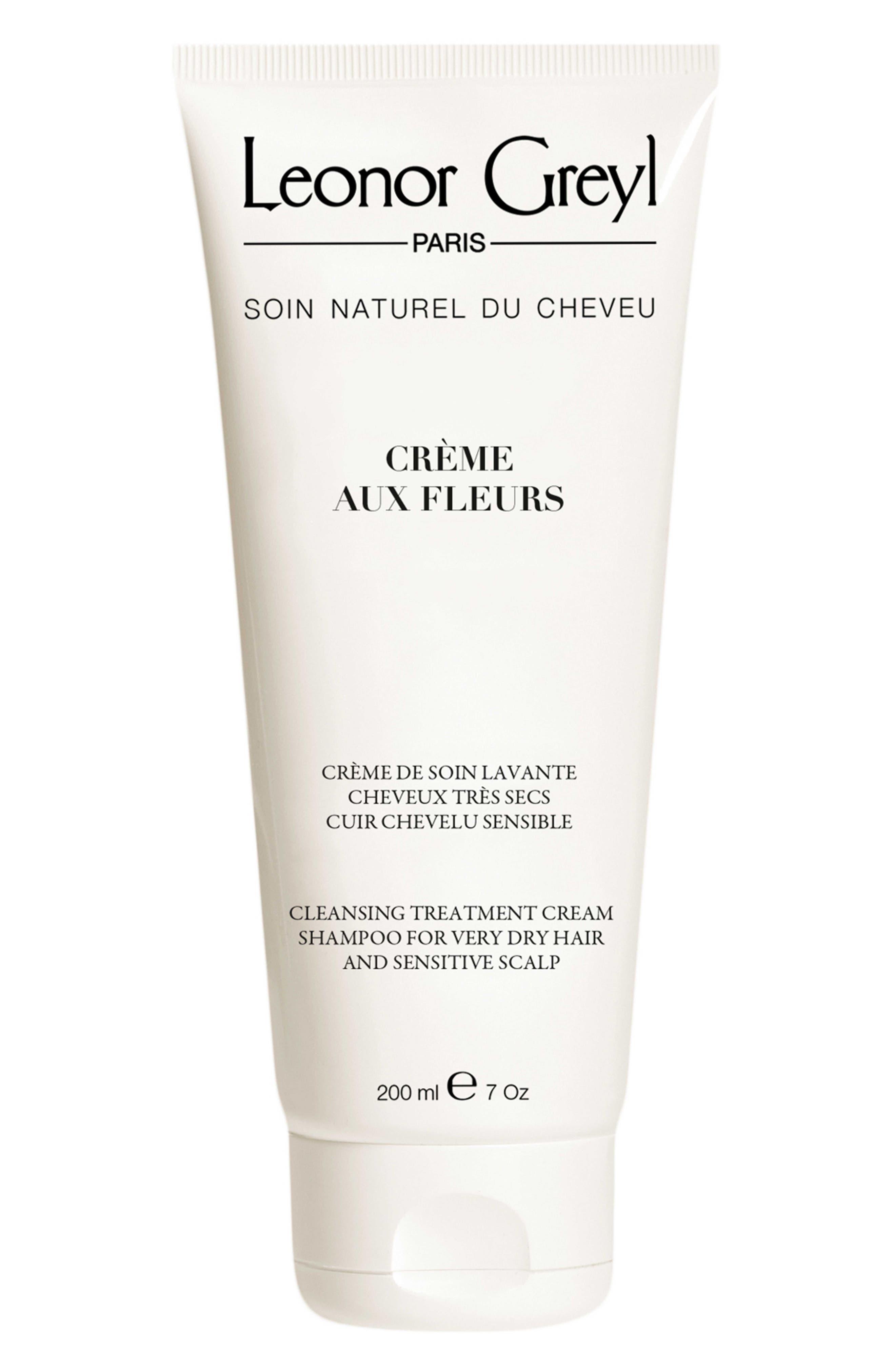 LEONOR GREYL PARIS, Crème Aux Fleurs Cream Shampoo, Main thumbnail 1, color, NO COLOR