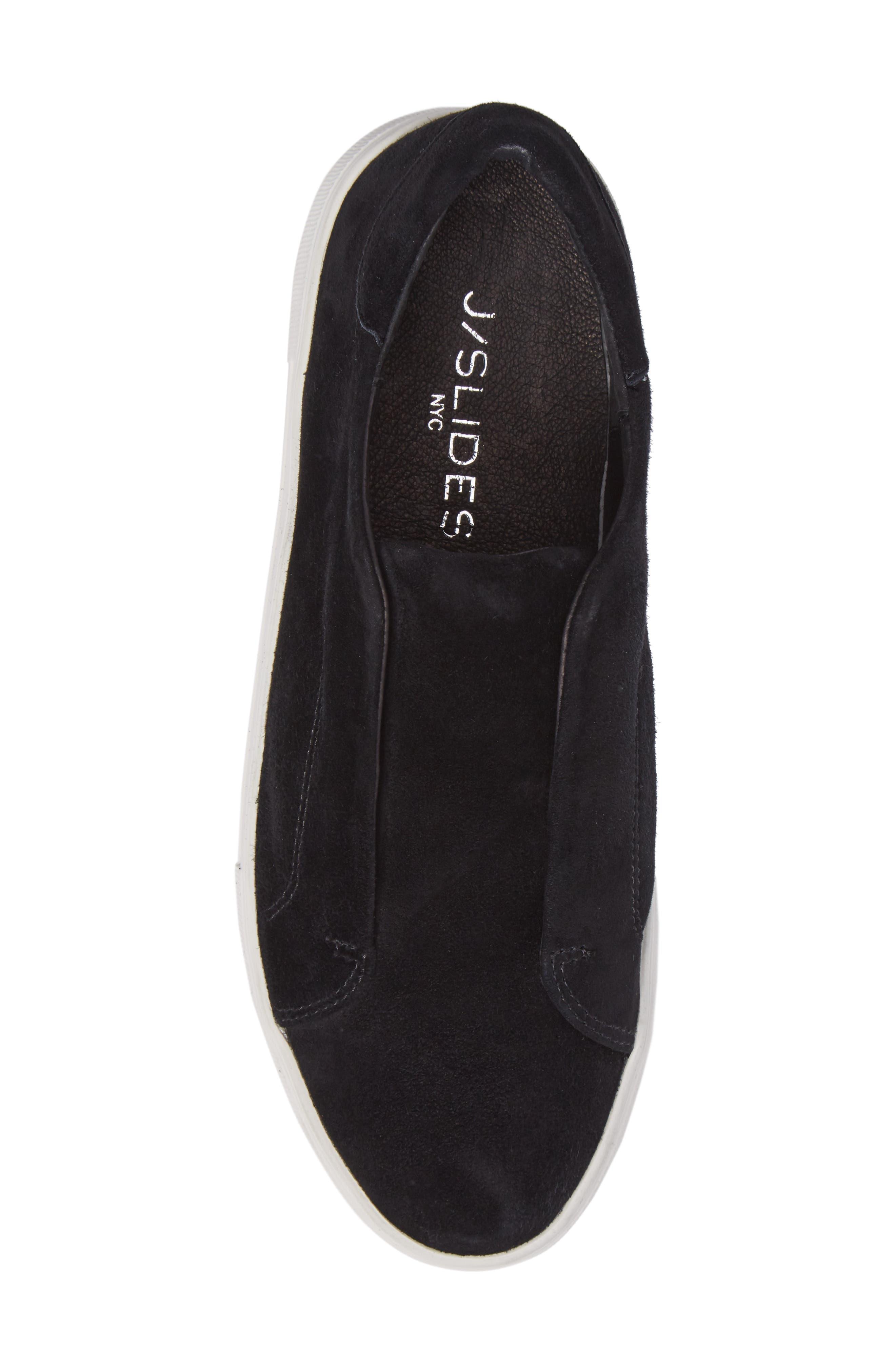 JSLIDES, Alara Slip-On Sneaker, Alternate thumbnail 5, color, 002
