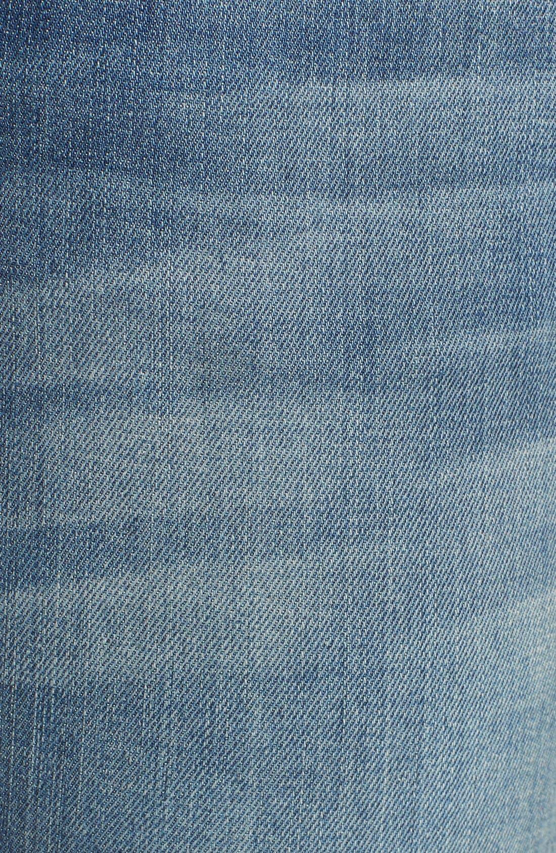 REBECCA MINKOFF, 'Jane' Skinny Jeans, Alternate thumbnail 4, color, 400
