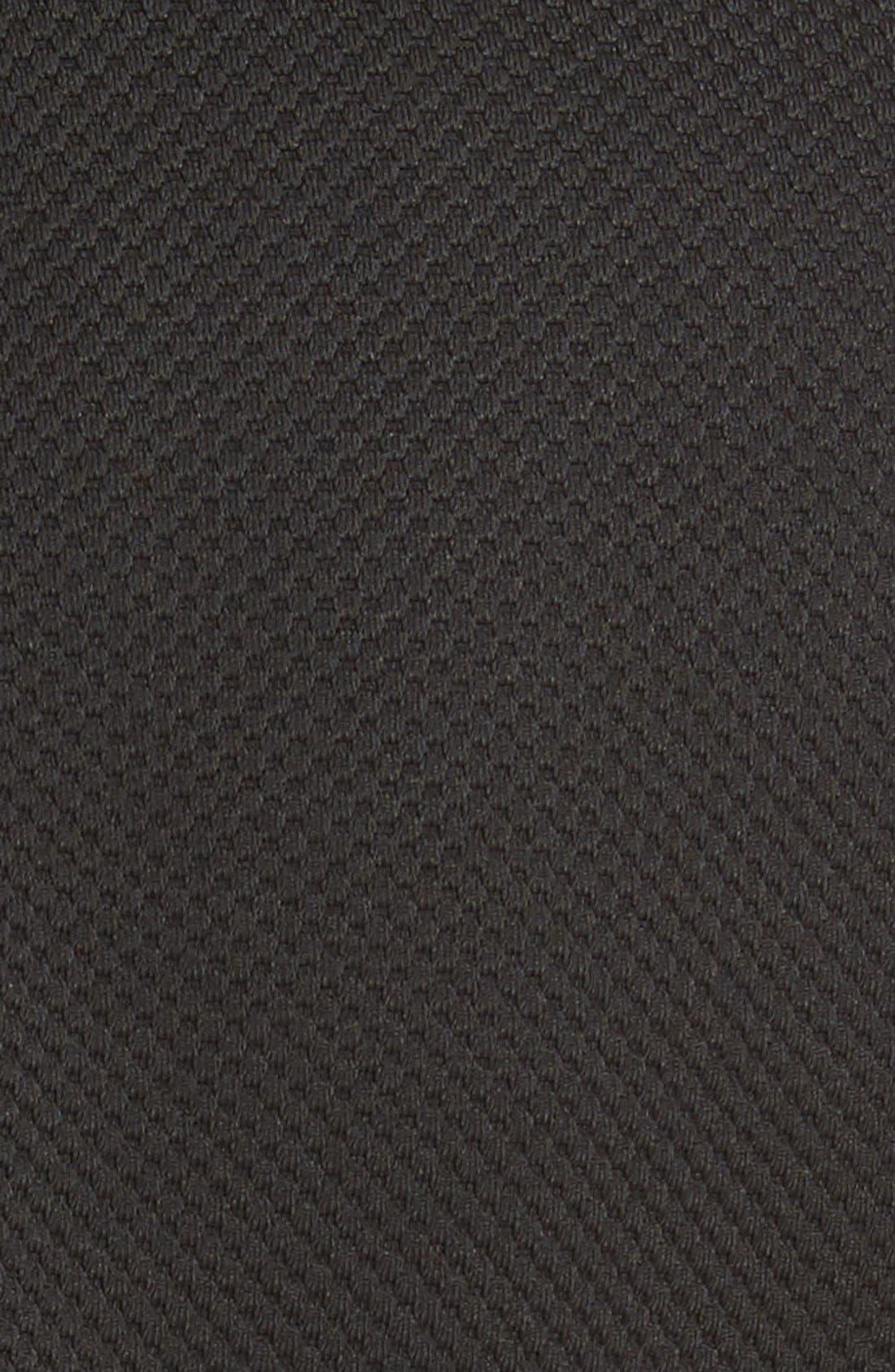 REBECCA TAYLOR, Stacy Drop Waist Dress, Alternate thumbnail 2, color, BLACK