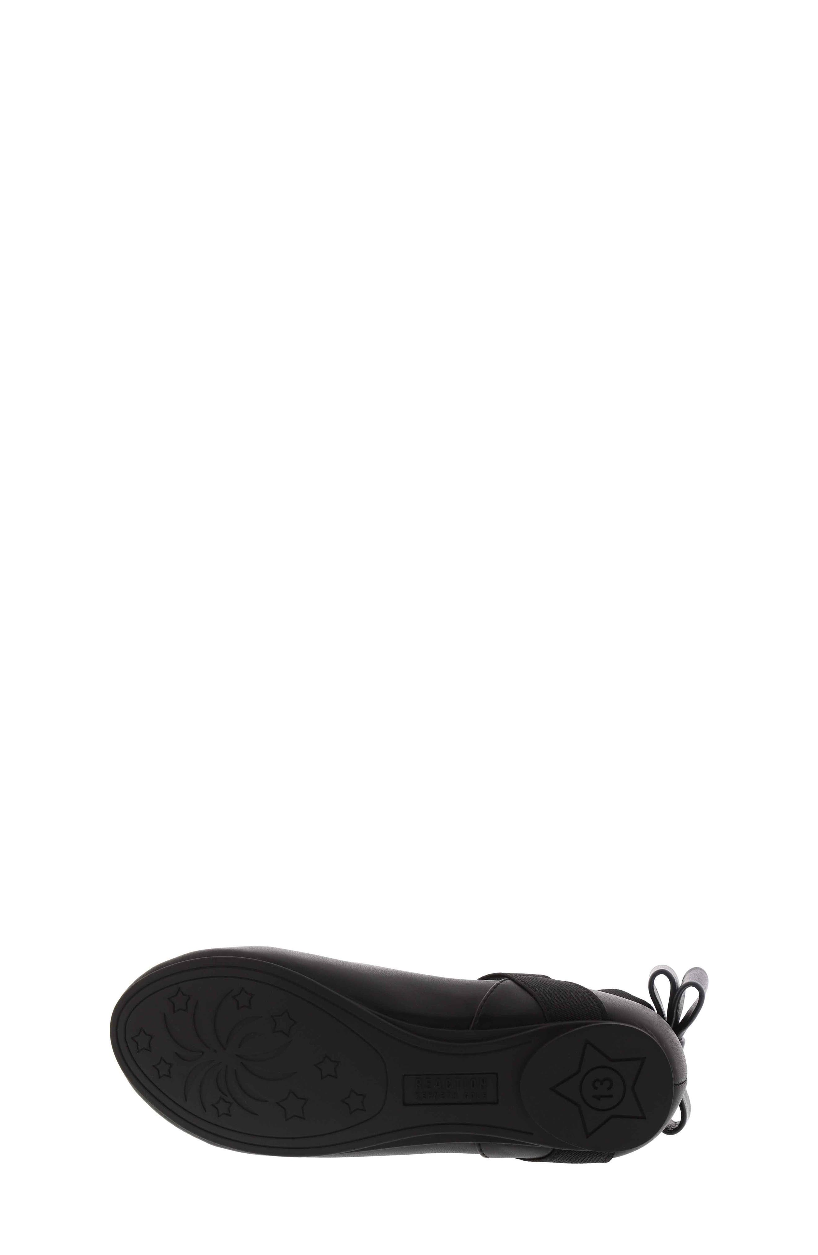 KENNETH COLE NEW YORK, Strappy Ballet Flat, Alternate thumbnail 6, color, 001
