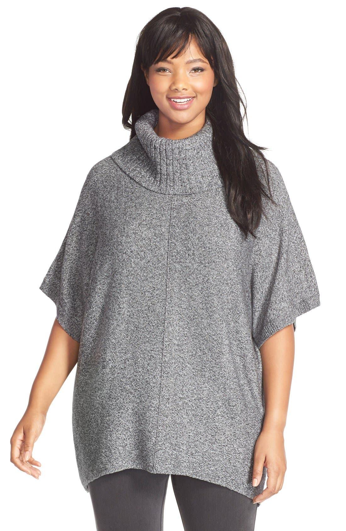 SEJOUR Cowl Neck Pullover, Main, color, 021