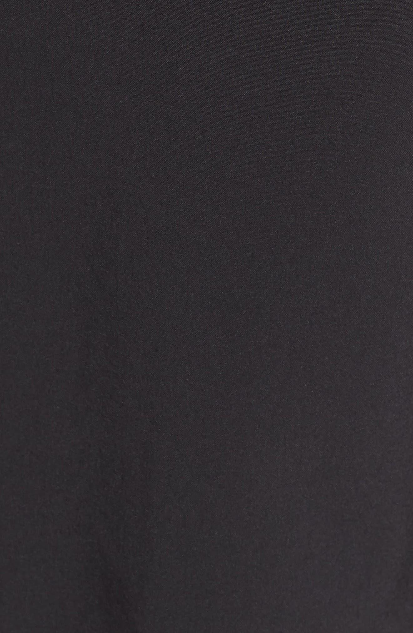 NEW BALANCE, Impact Shorts, Alternate thumbnail 6, color, BLACK