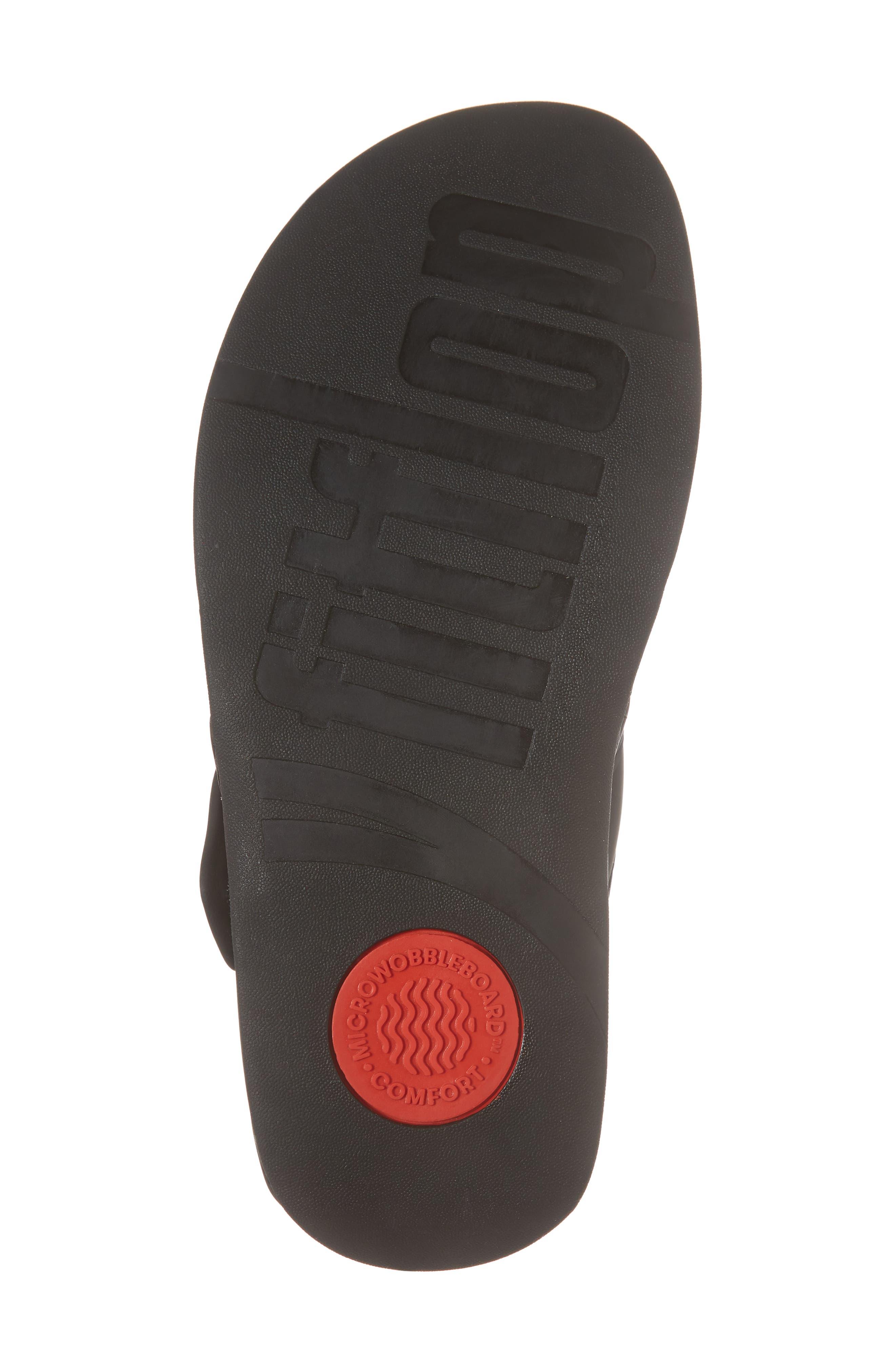 FITFLOP, Trakk<sup>™</sup> II Sandal, Alternate thumbnail 6, color, BLACK NEOPRENE