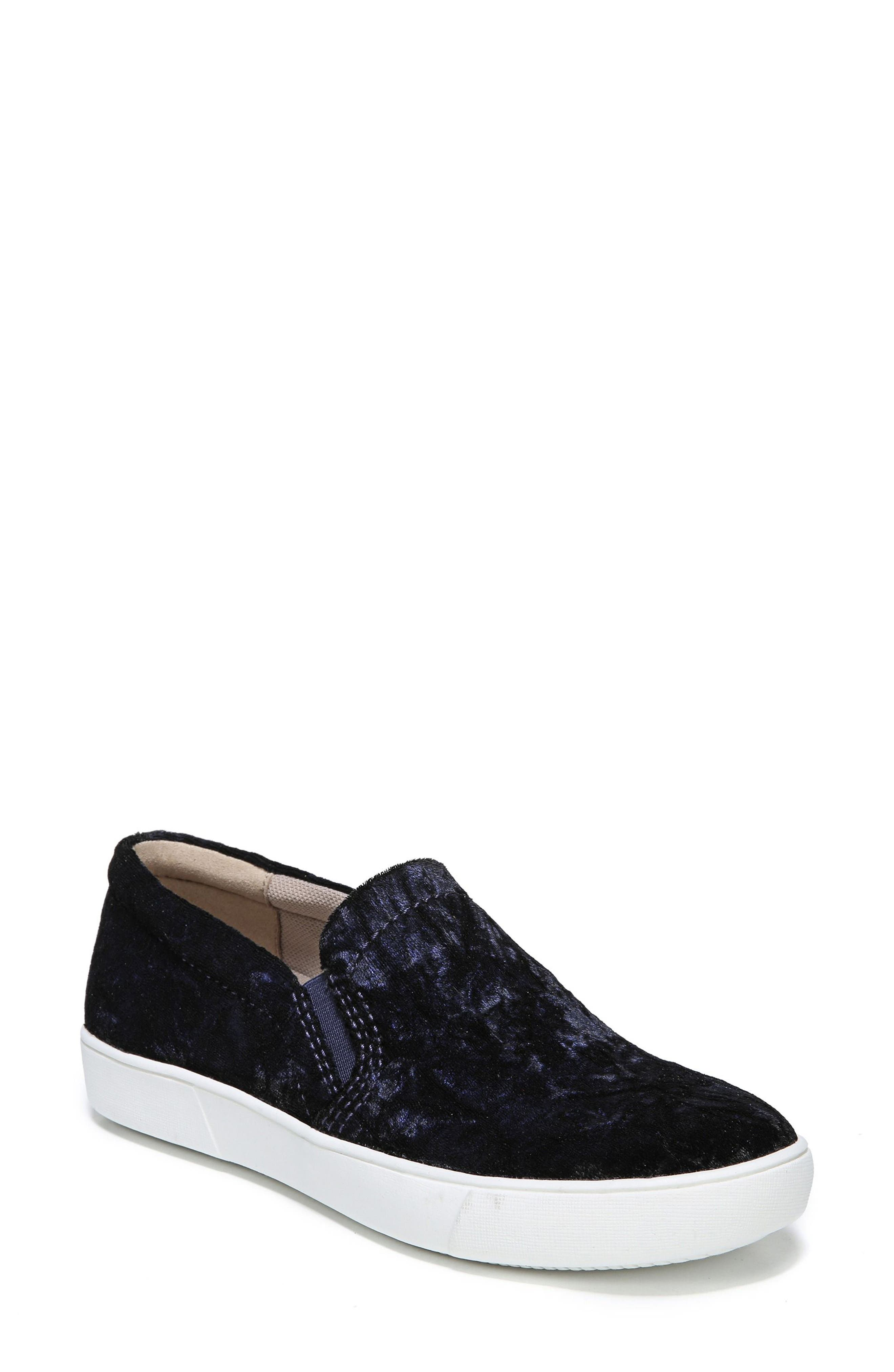NATURALIZER, Marianne Slip-On Sneaker, Main thumbnail 1, color, NAVY VELVET