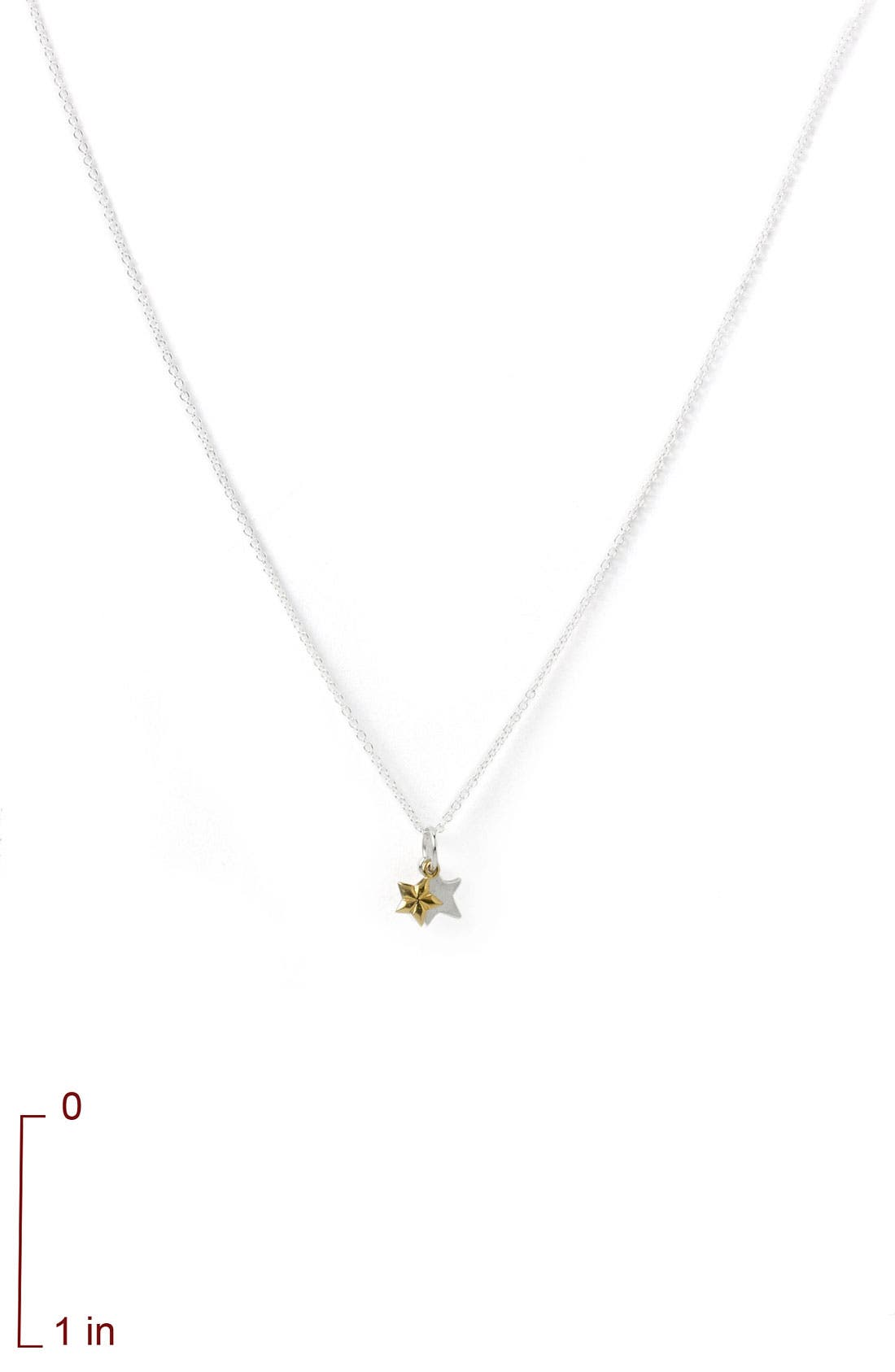 DOGEARED, 'Reminder - Sisters' Pendant Necklace, Alternate thumbnail 4, color, 040