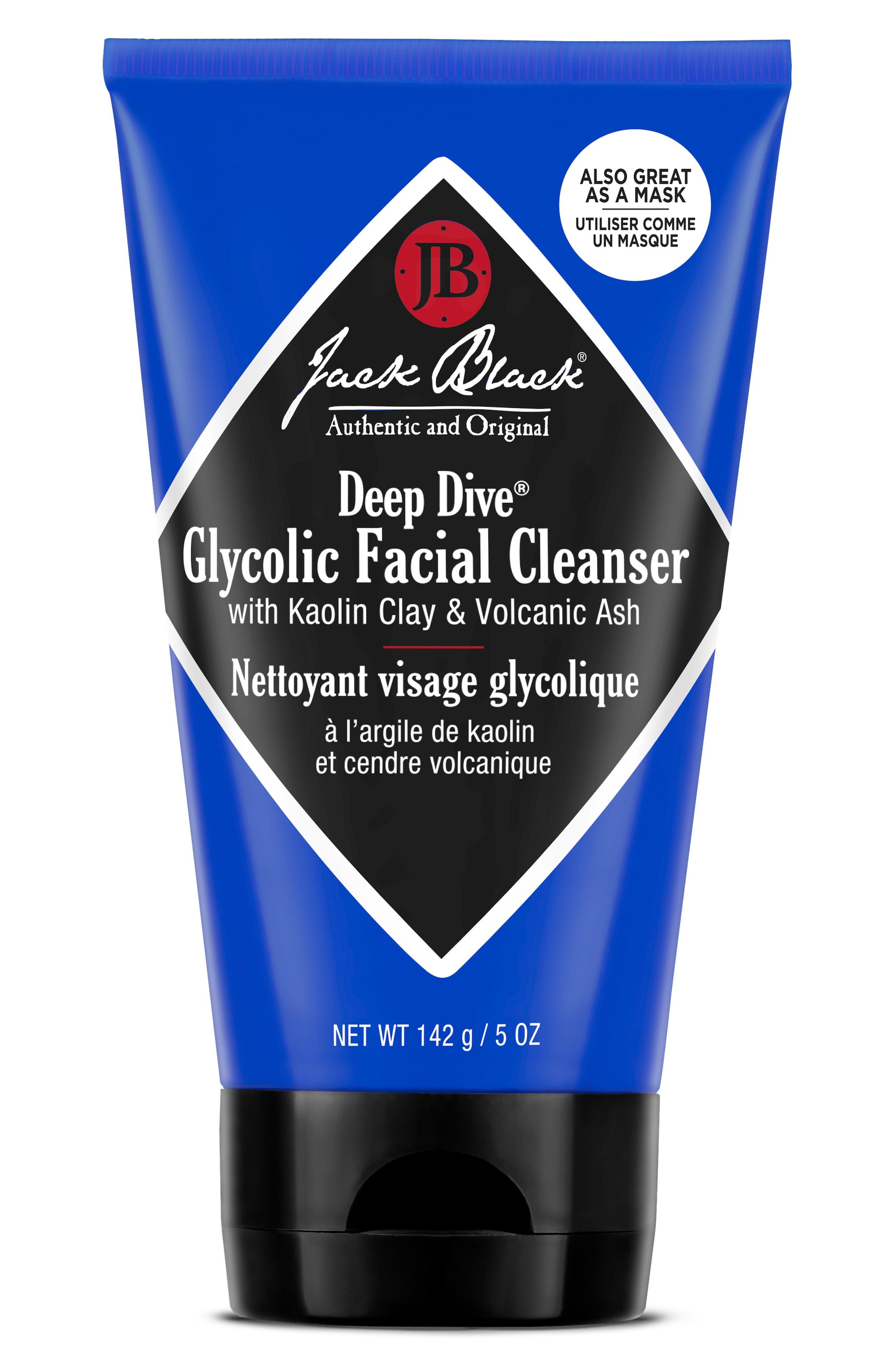 JACK BLACK, Deep Dive<sup>™</sup> Glycolic Facial Cleanser, Alternate thumbnail 2, color, NO COLOR