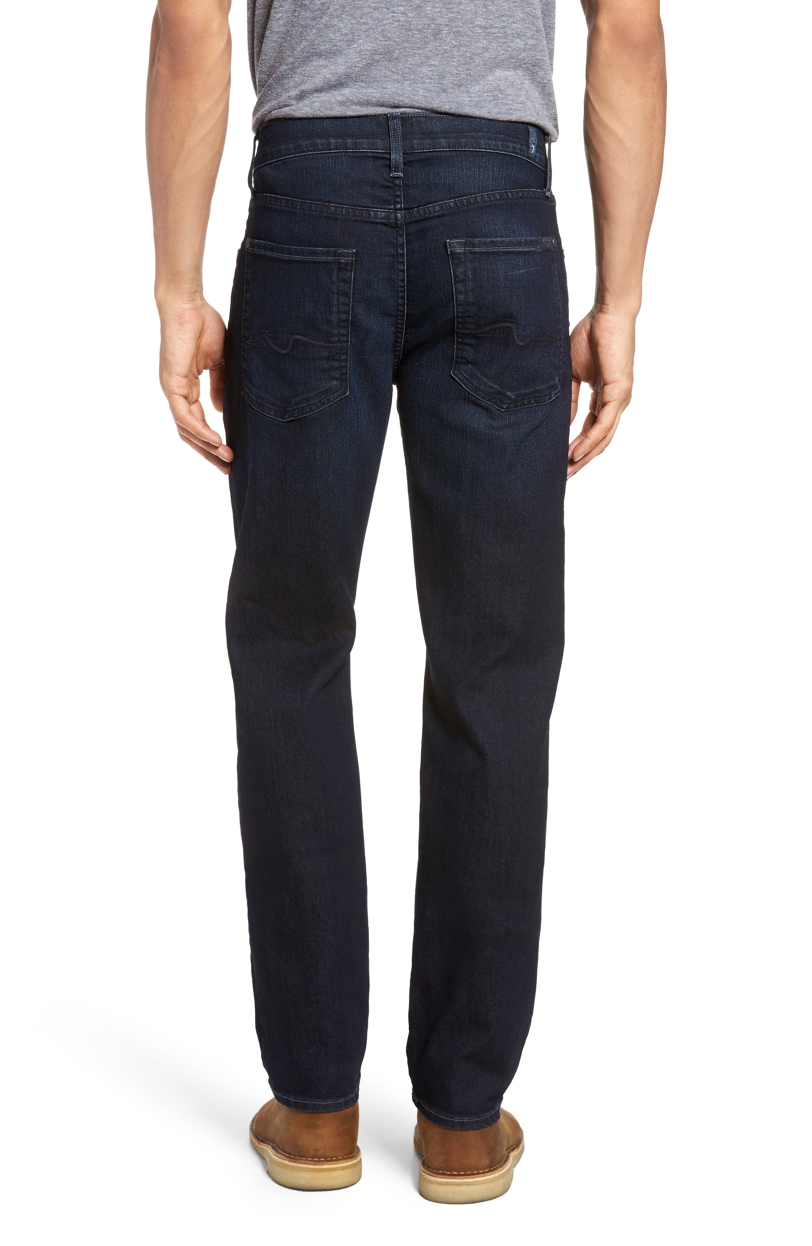 7 FOR ALL MANKIND<SUP>®</SUP>, Slimmy AirWeft Slim Fit Jeans, Alternate thumbnail 2, color, PERENNIAL
