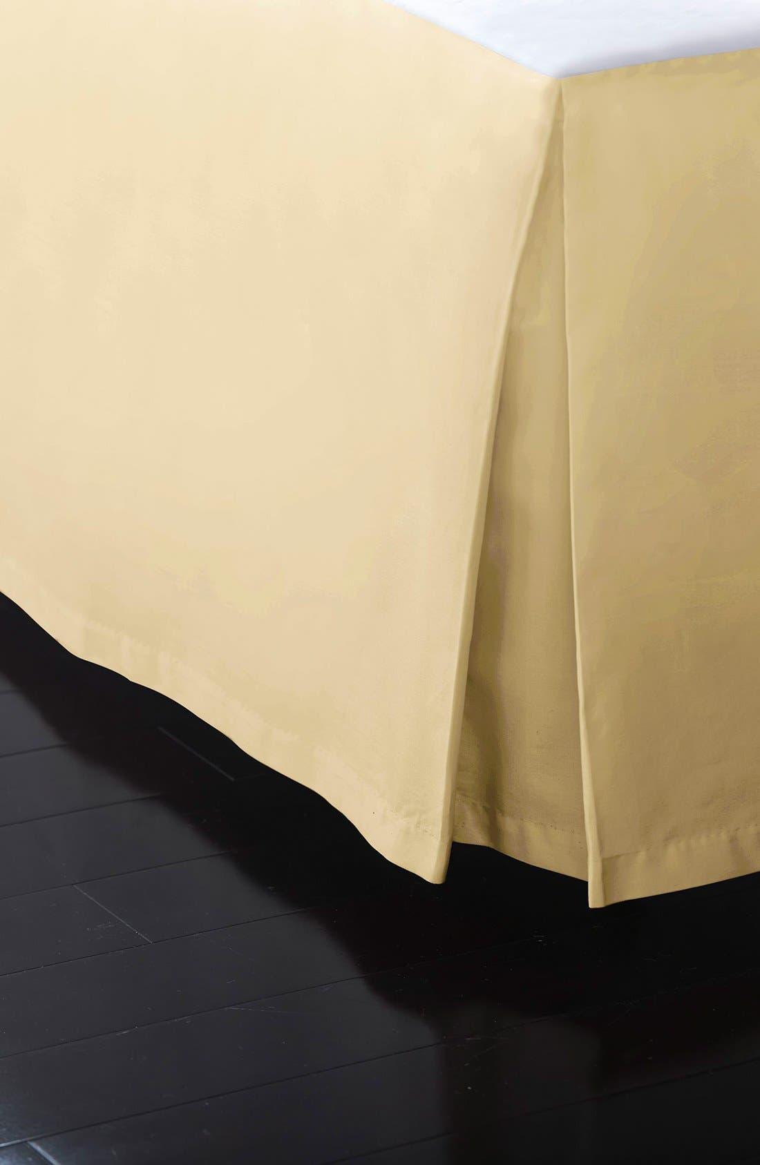 DONNA KARAN NEW YORK, Donna Karan Collection 'Reflection' 510 Thread Count Bed Skirt, Main thumbnail 1, color, GOLD DUST