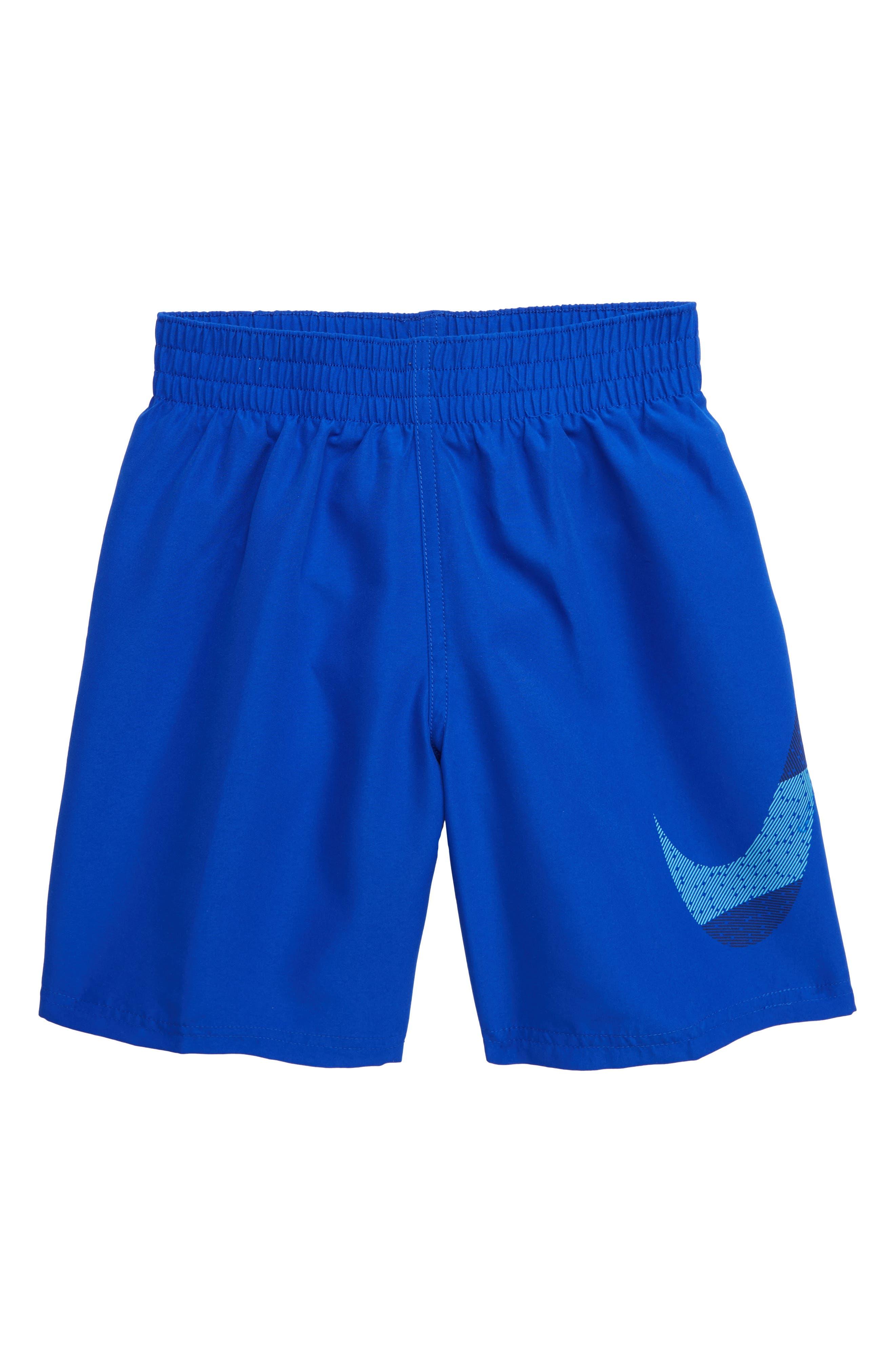 NIKE, Mash-Up Breaker Volley Shorts, Main thumbnail 1, color, HYPER ROYAL
