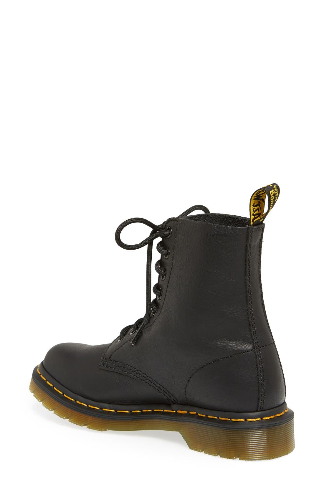 DR. MARTENS, 'Pascal' Boot, Alternate thumbnail 4, color, BLACK VIRGINIA