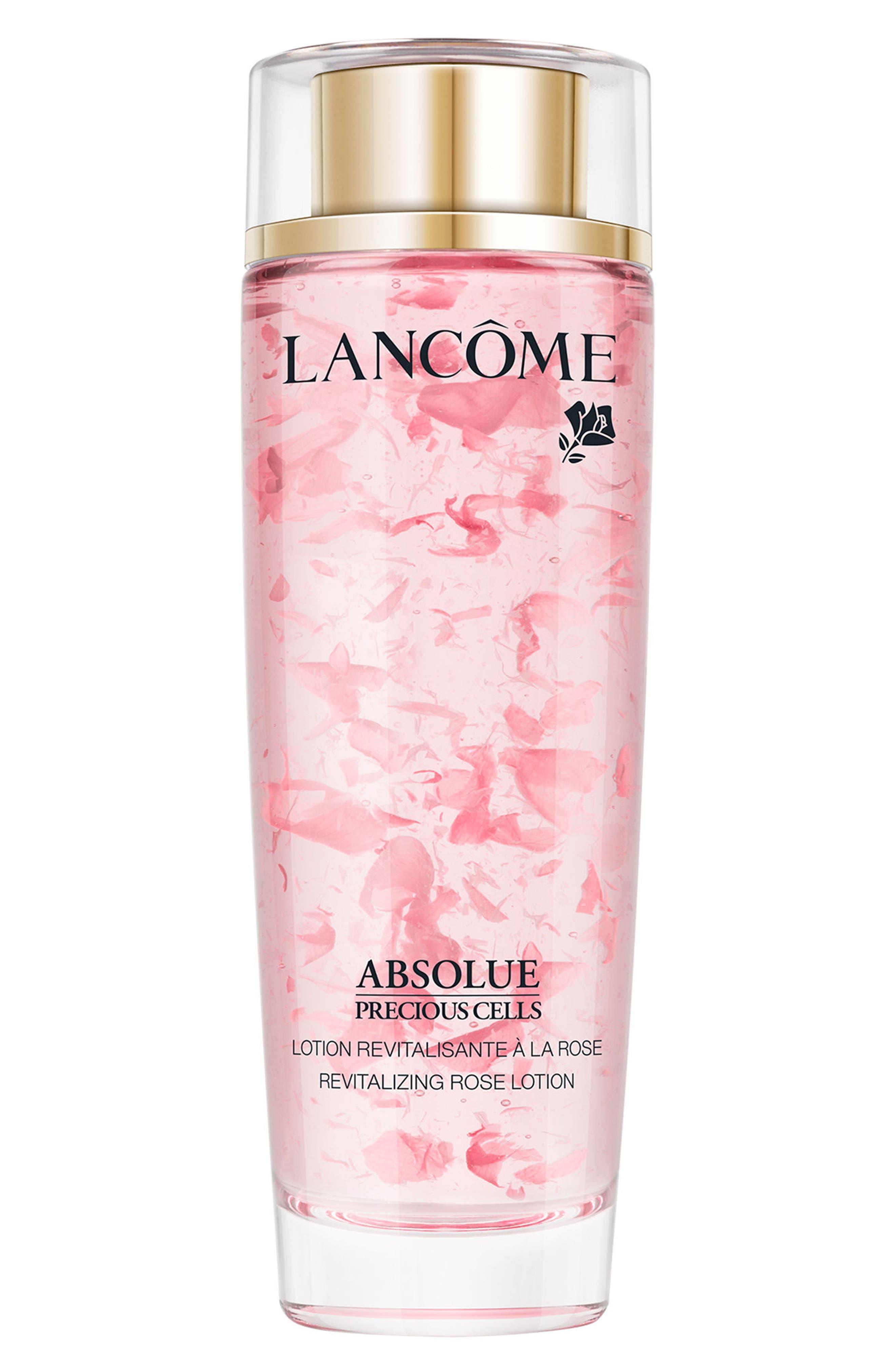 LANCÔME, Absolue Precious Cells Revitalizing Rose Lotion Toner, Main thumbnail 1, color, NO COLOR