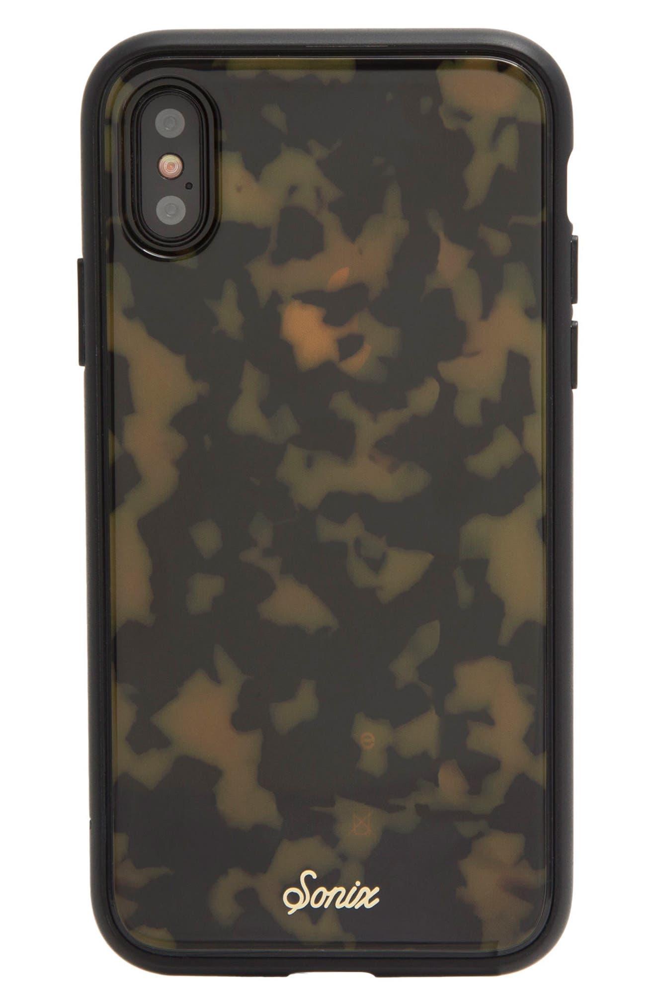 SONIX, Tortoise iPhone 6/6s/7/8 & 6/6s/7/8 Plus Case, Alternate thumbnail 3, color, 200
