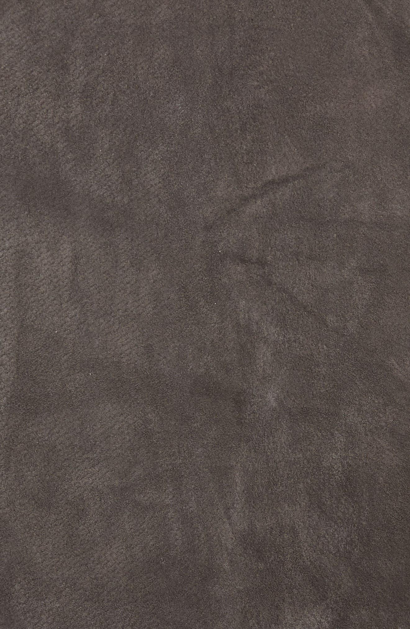 BLANKNYC, Suede Miniskirt, Alternate thumbnail 5, color, 020