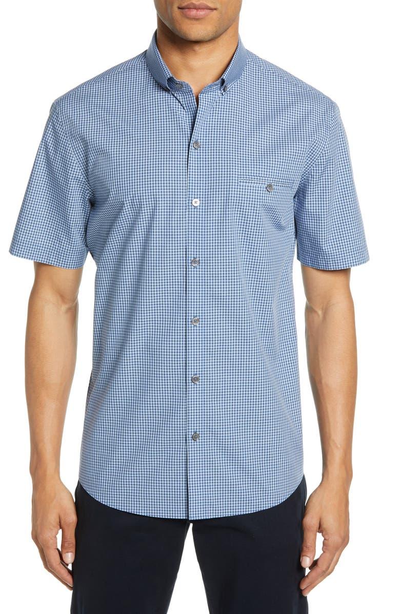 Zachary Prell T-shirts CECHINI REGULAR FIT SHORT SLEEVE SPORT SHIRT