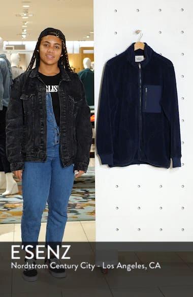 Lucas High Pile Fleece Sweater Jacket, sales video thumbnail