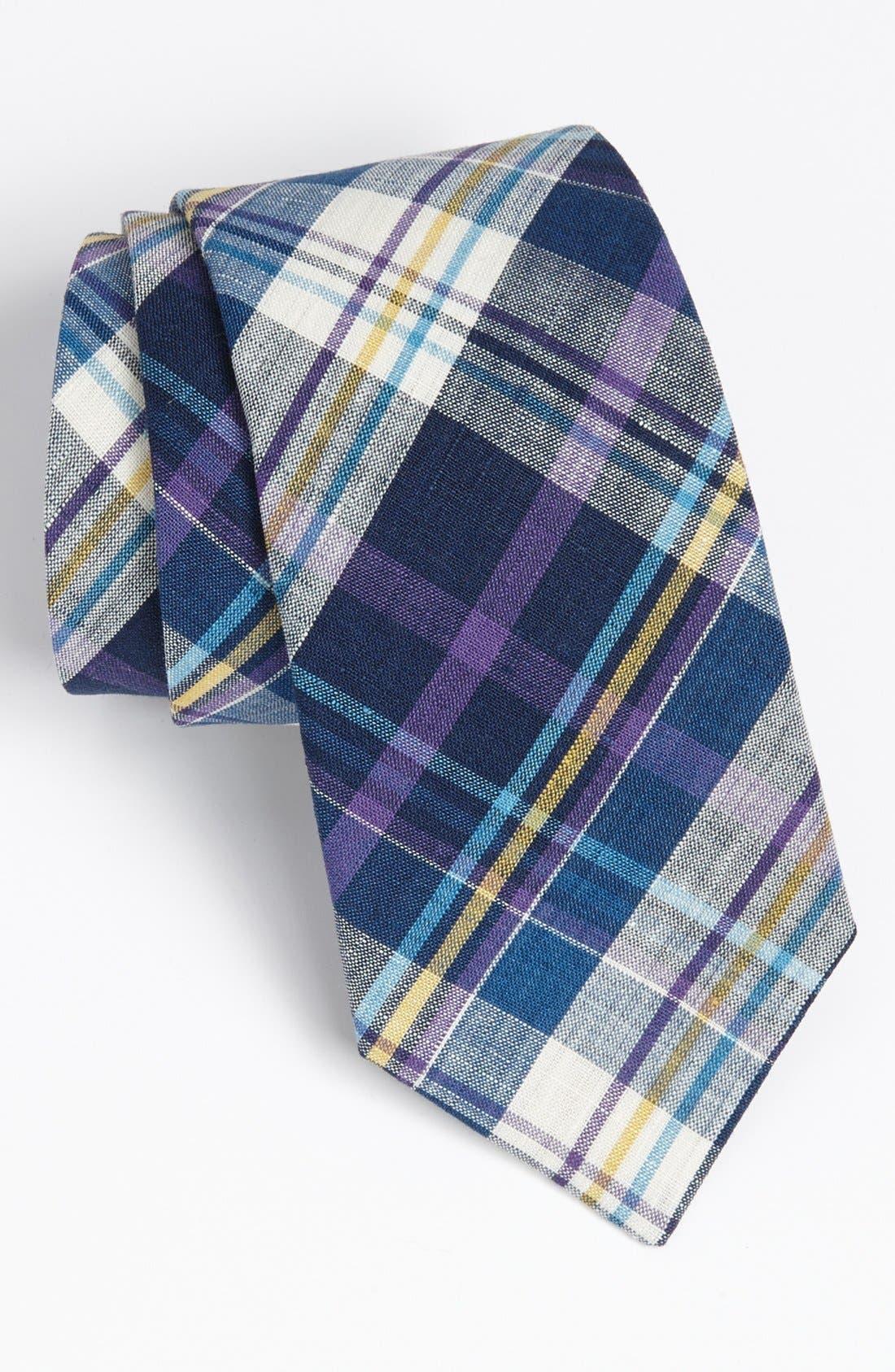 ROBERT STEWART, Woven Tie, Main thumbnail 1, color, 500