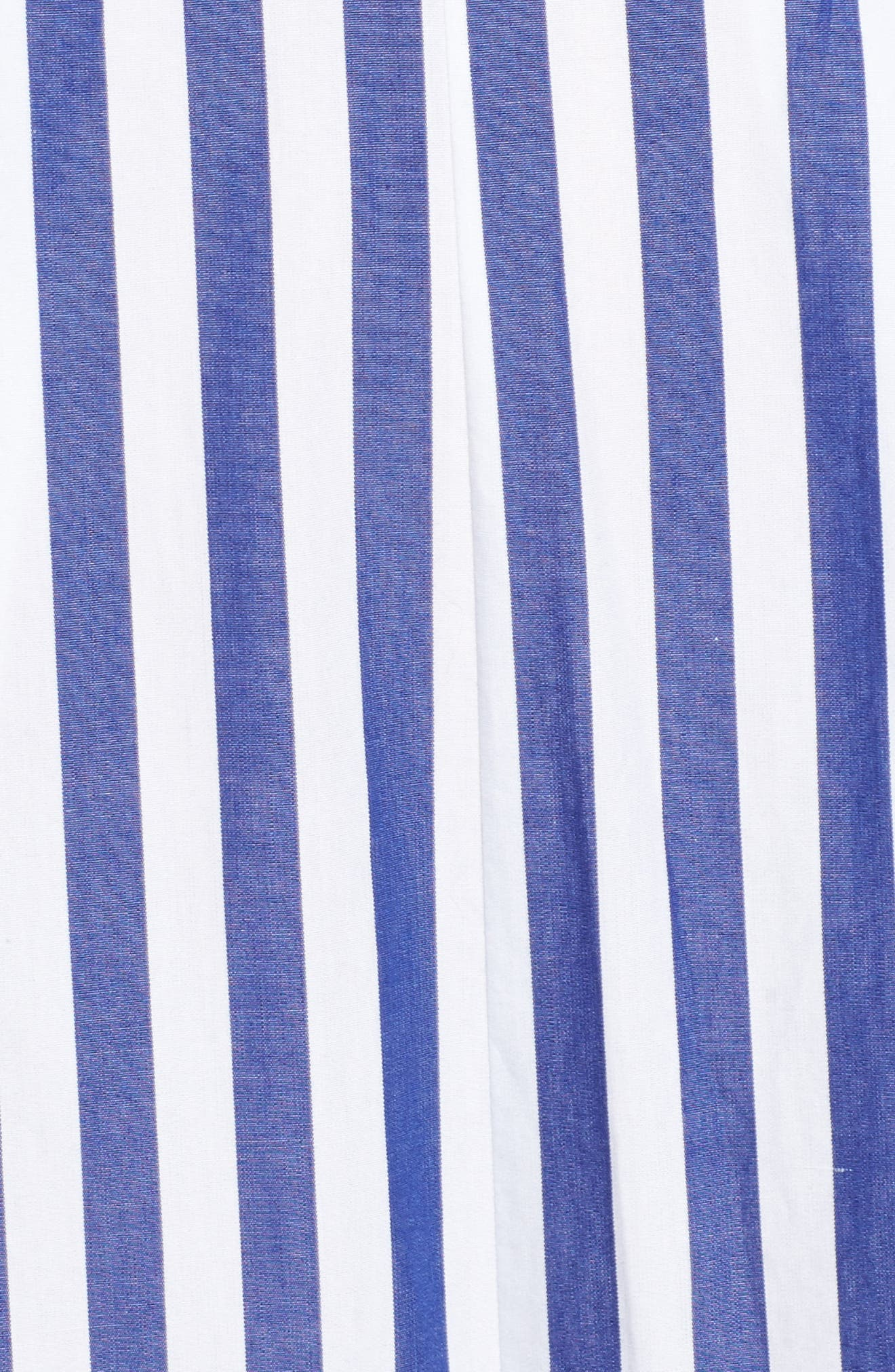 J.CREW, Stripe Halter Wide Leg Jumpsuit, Alternate thumbnail 6, color, TUSHAR STRIPE LIGHTHOUSE