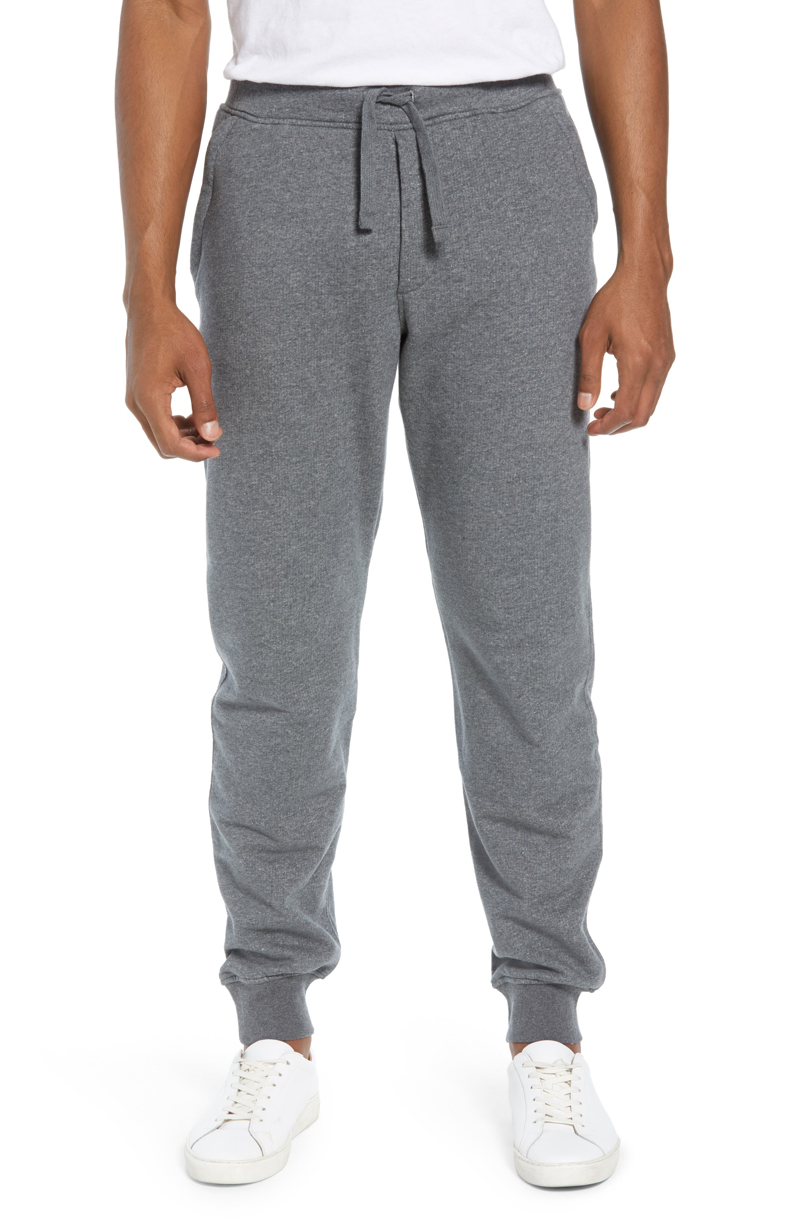 PATAGONIA Mahnya Fleece Jogger Pants, Main, color, FORGE GREY