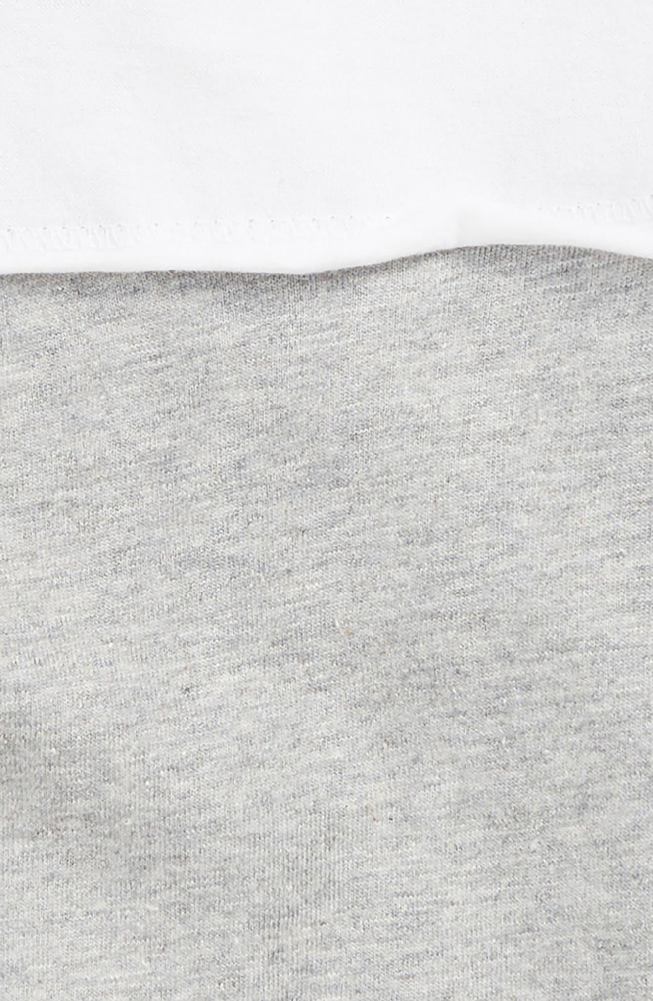 BURT'S BEES BABY, Colorblock Organic Cotton Bodysuit, Alternate thumbnail 2, color, 050