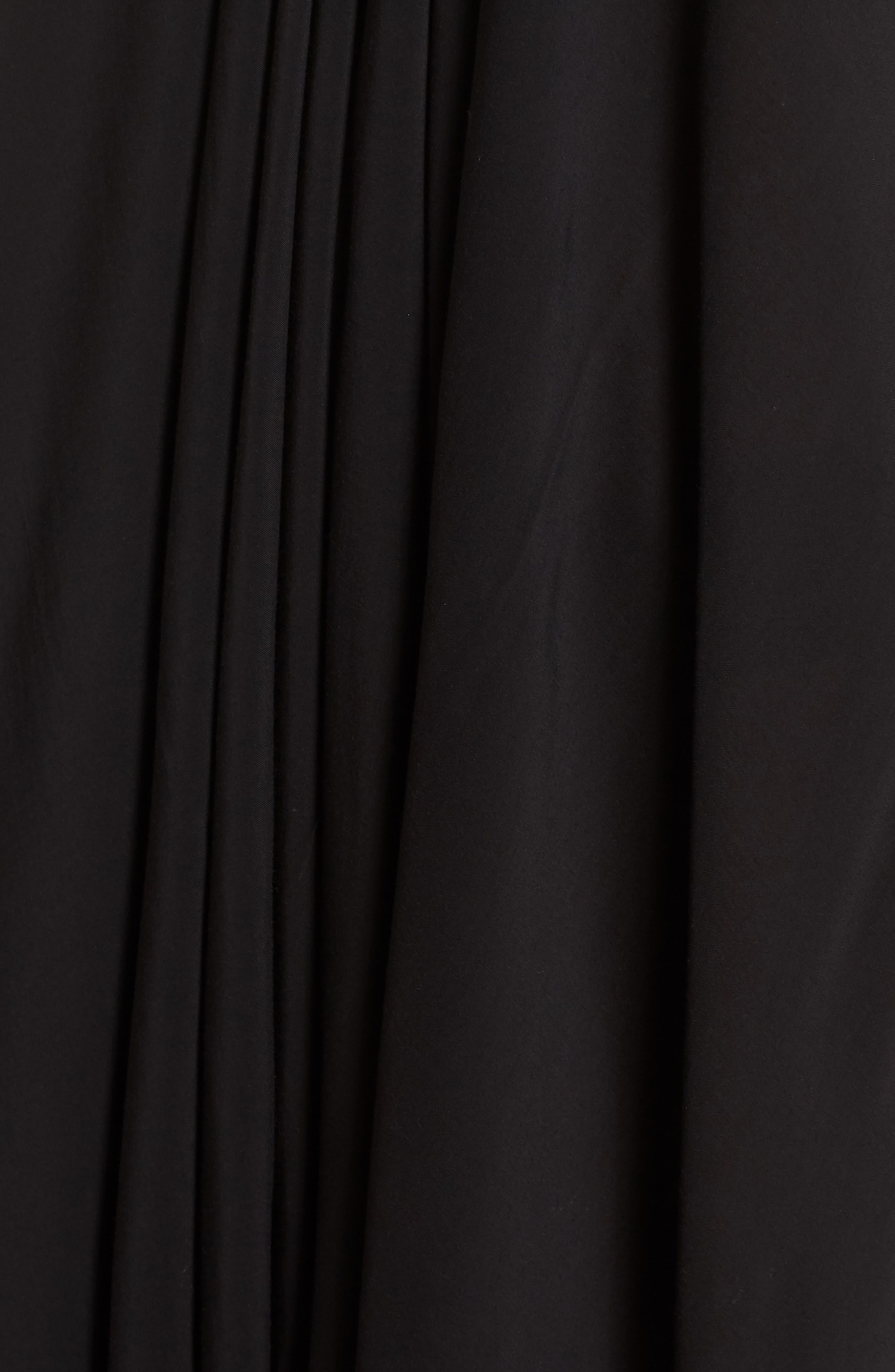 ELAN, Cover-Up Maxi Dress, Alternate thumbnail 6, color, BLACK