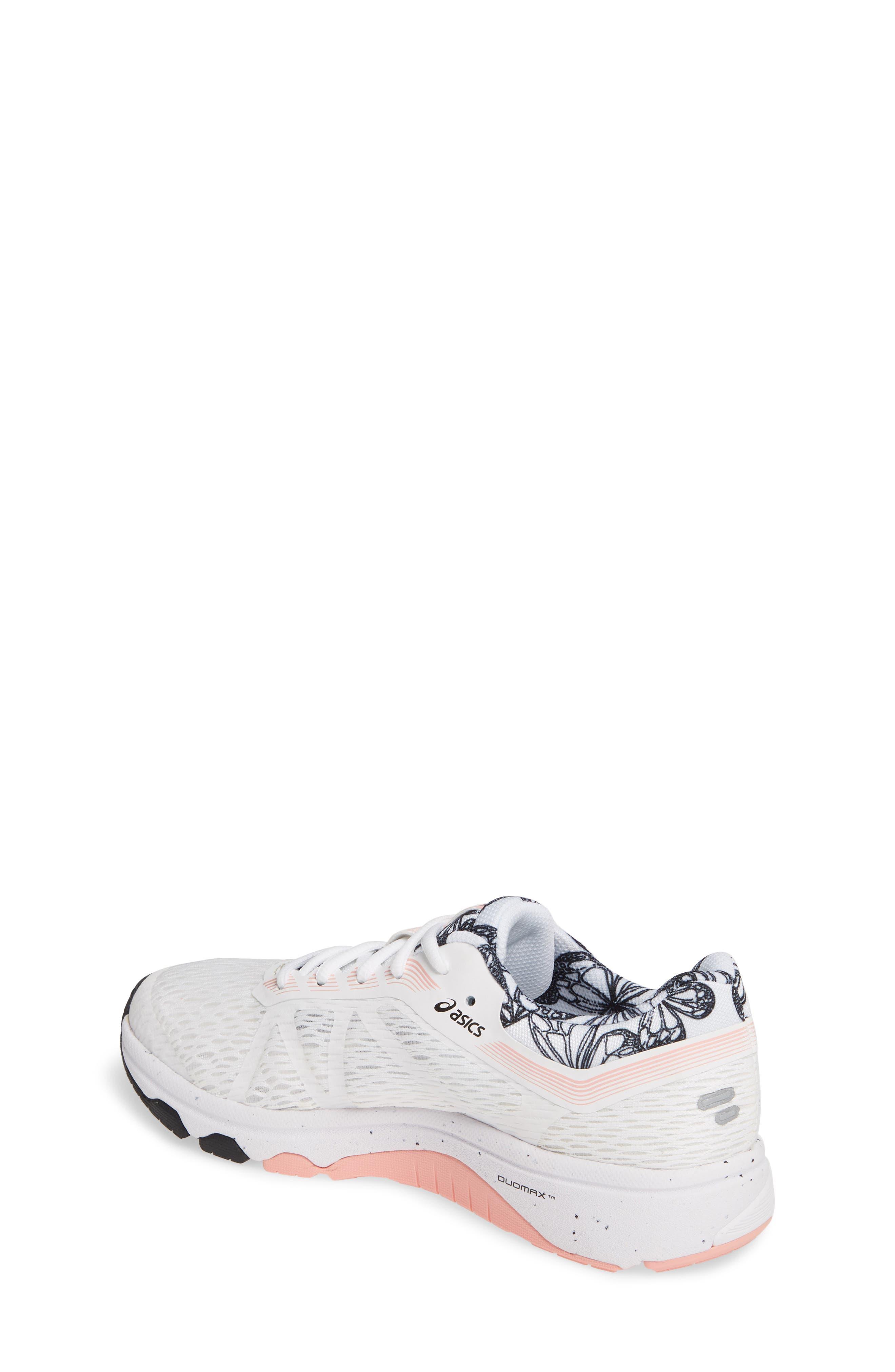 ASICS<SUP>®</SUP>, GT 1000 7 Running Shoe, Alternate thumbnail 2, color, WHITE/ WHITE