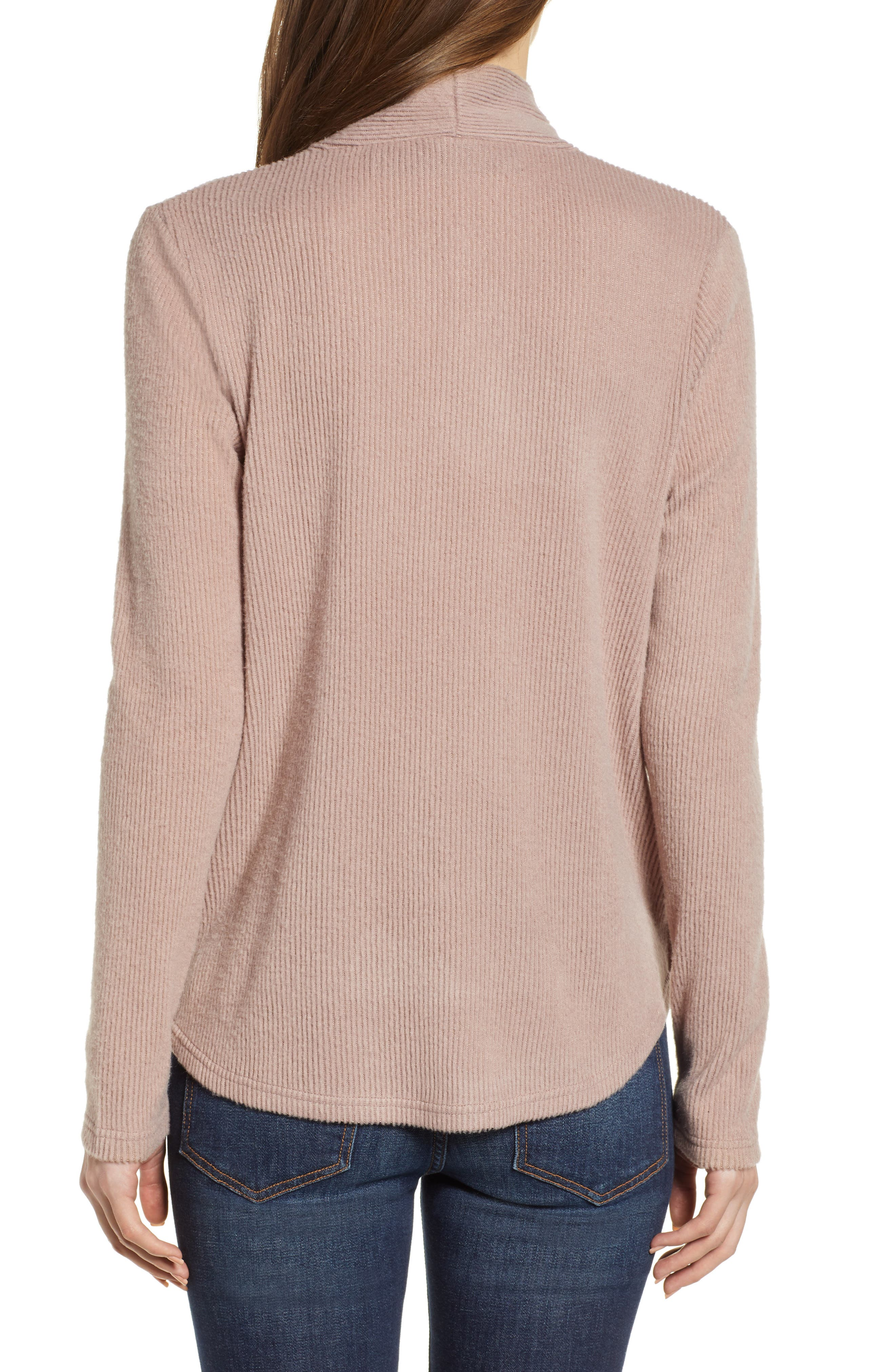CODEXMODE, Faux Wrap Sweater, Alternate thumbnail 2, color, 250