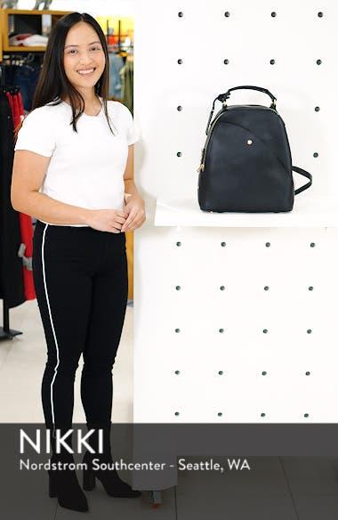 Hingi Faux Leather Backpack, sales video thumbnail