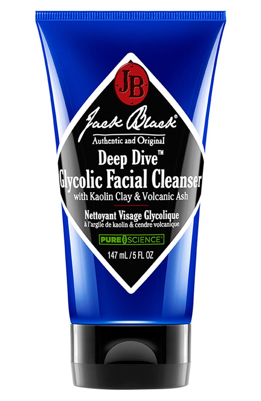 JACK BLACK Deep Dive<sup>™</sup> Glycolic Facial Cleanser, Main, color, NO COLOR