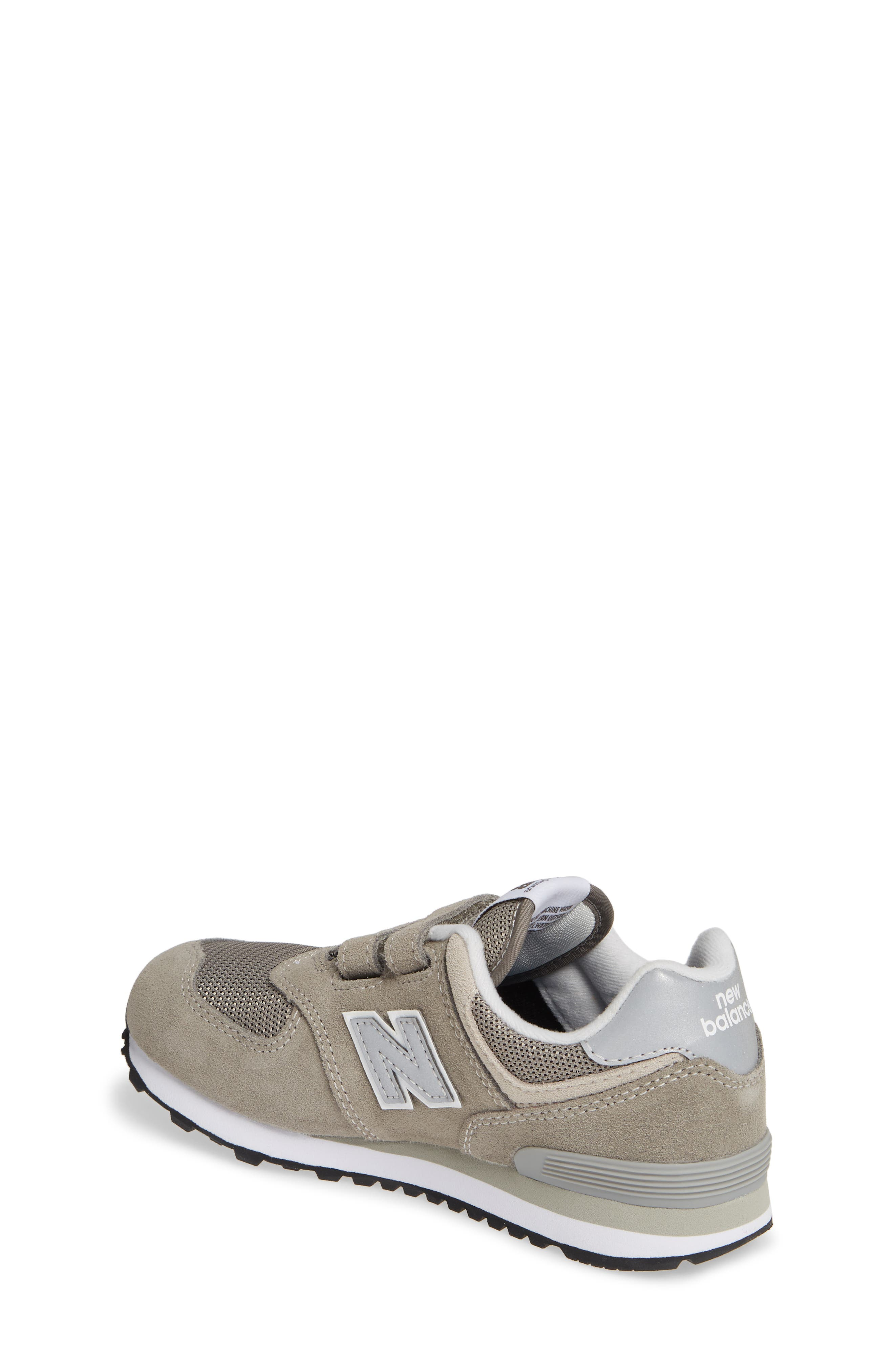NEW BALANCE, 574 Retro Surf Sneaker, Alternate thumbnail 2, color, GREY