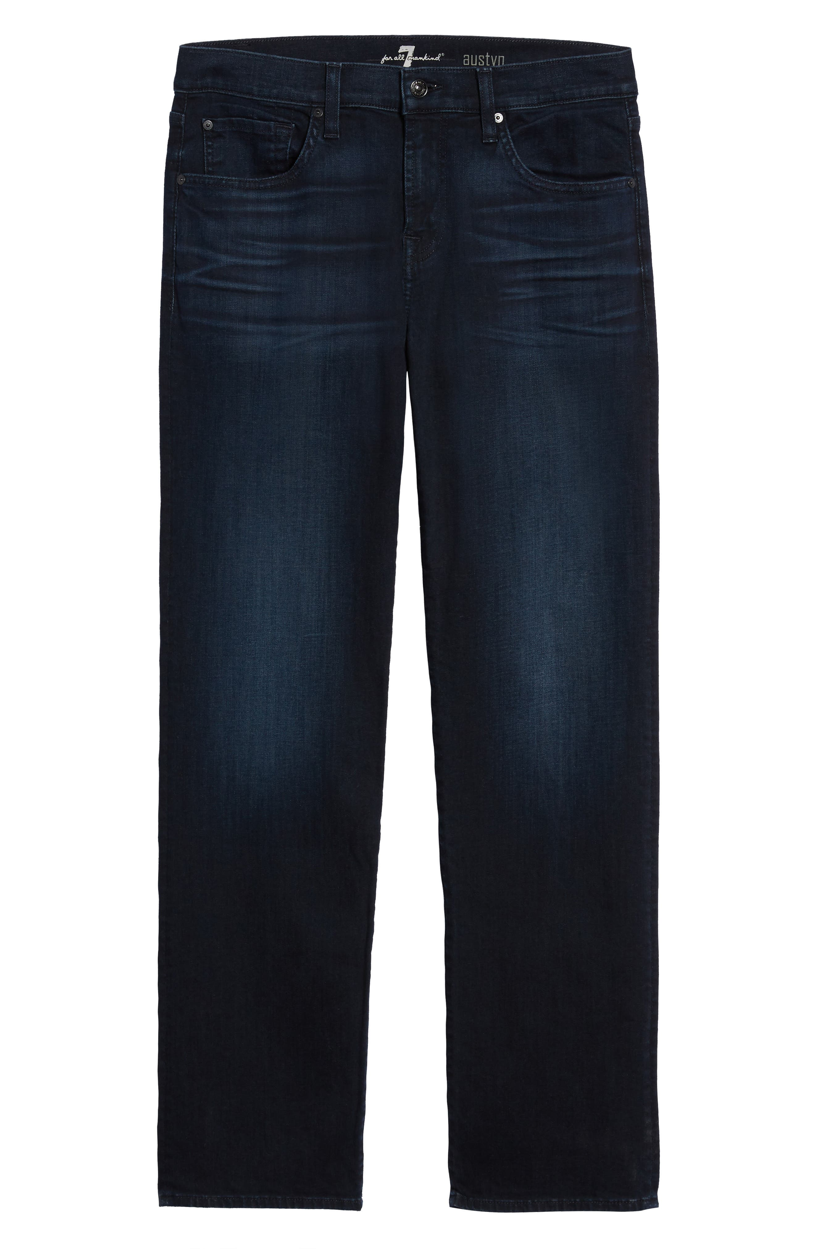 7 FOR ALL MANKIND<SUP>®</SUP>, Austyn Relaxed Fit Jeans, Alternate thumbnail 7, color, ASOTIN-ASOT