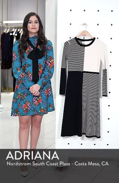 Placed Stripe Sweater Dress, sales video thumbnail