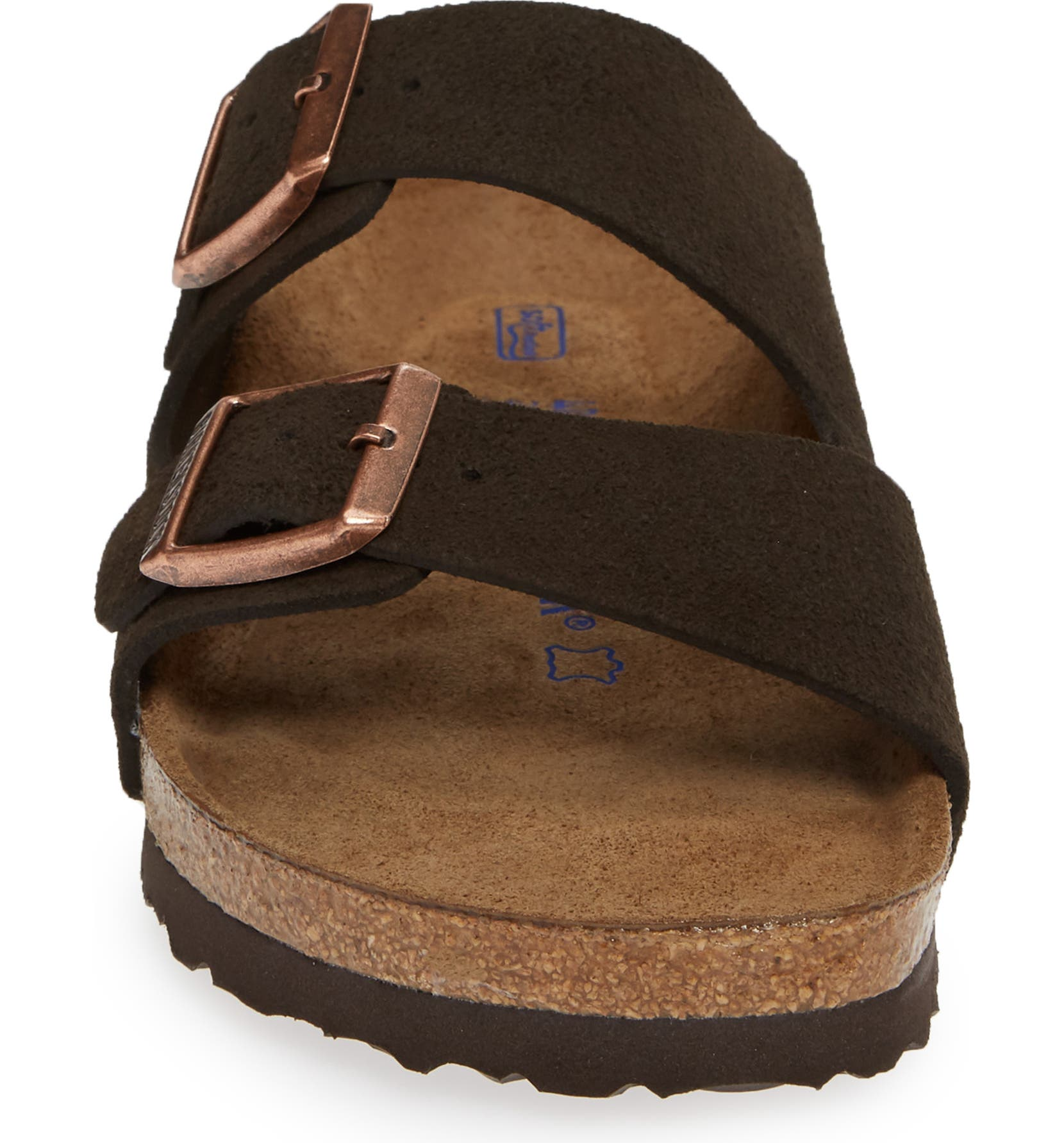 6b6e3adbf2 Birkenstock  Arizona  Soft Footbed Suede Sandal (Women)