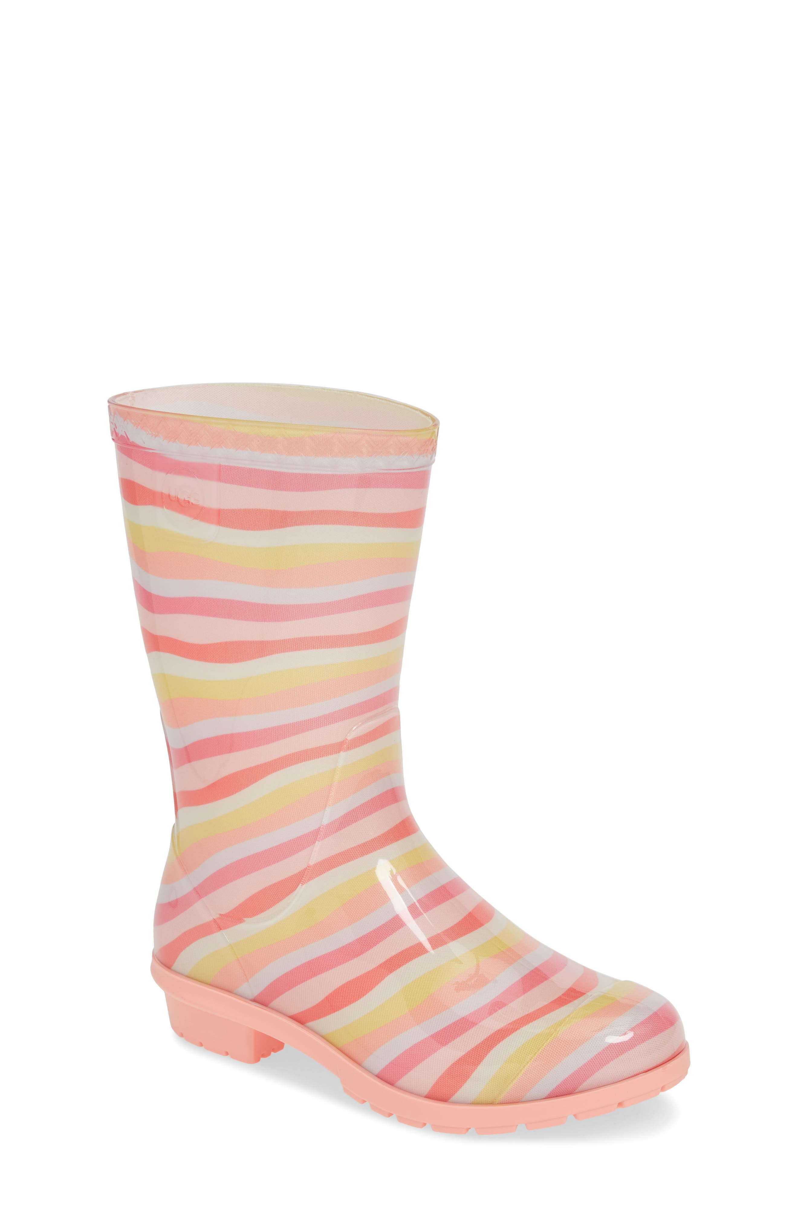 UGG<SUP>®</SUP>, Raana Waterproof Rain Boot, Main thumbnail 1, color, RAINBOW