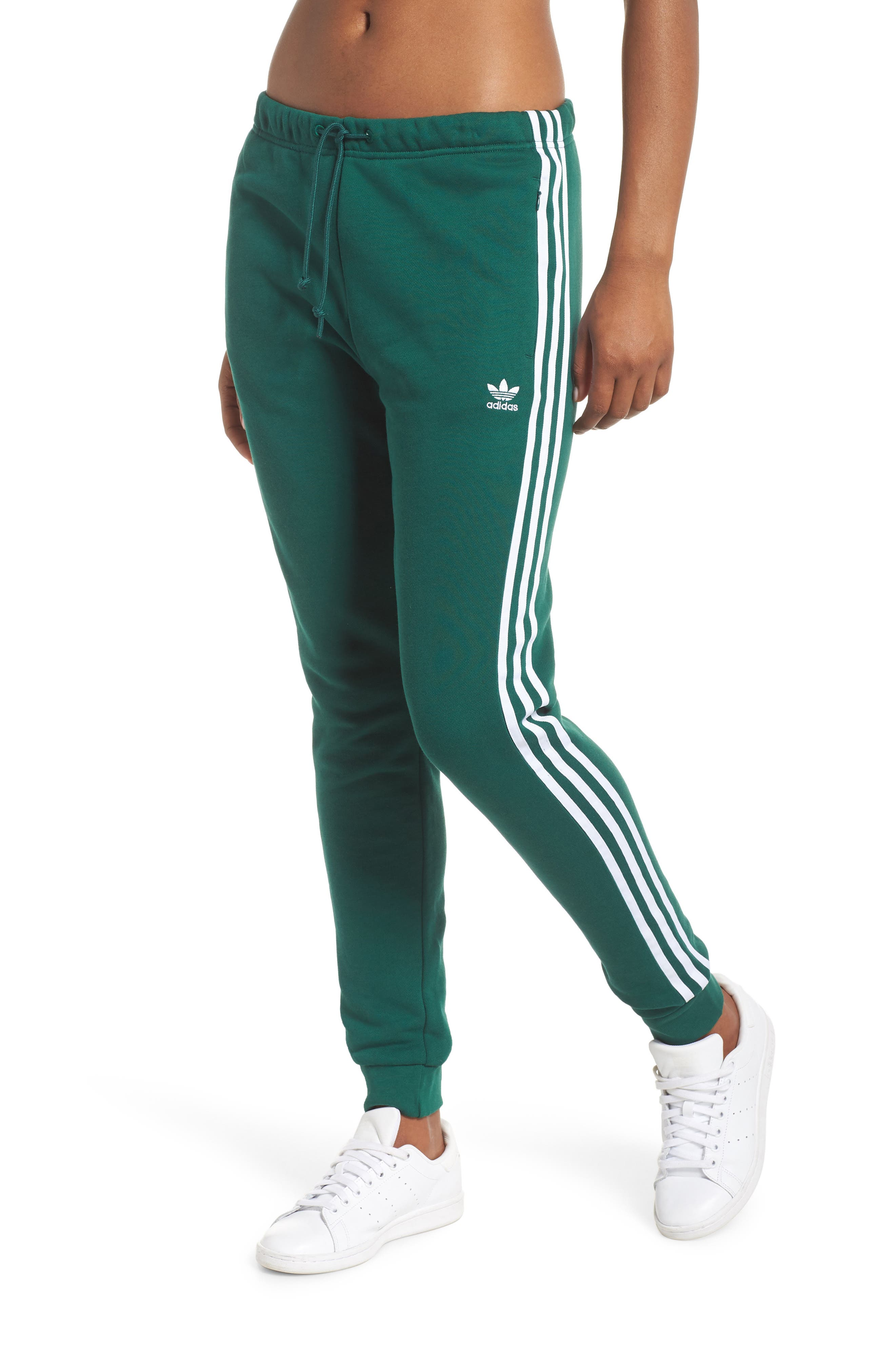 ADIDAS ORIGINALS, Cuffed Track Pants, Main thumbnail 1, color, 305