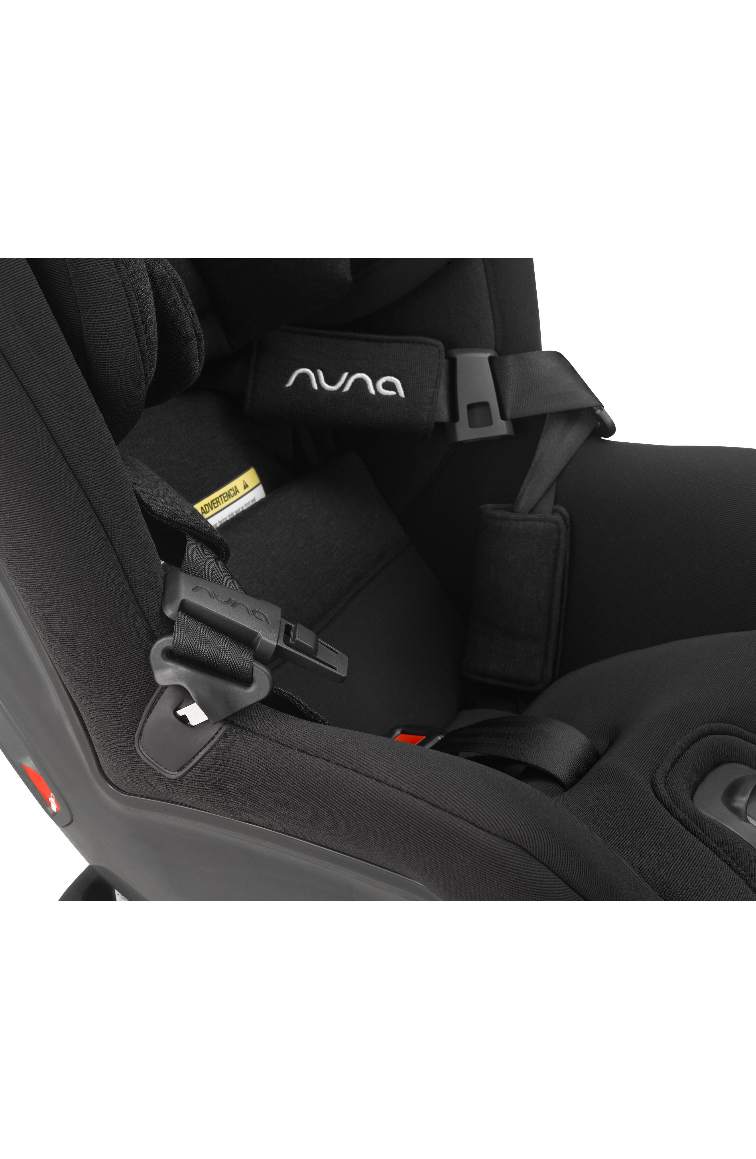 NUNA, RAVA<sup>™</sup> Convertible Car Seat, Alternate thumbnail 8, color, VERONA CAVIAR