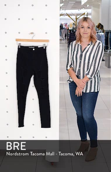 MOTO Joni Ripped Skinny Jeans, sales video thumbnail