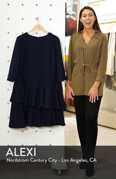 Ruffle Tiered Sheath Dress, sales video thumbnail