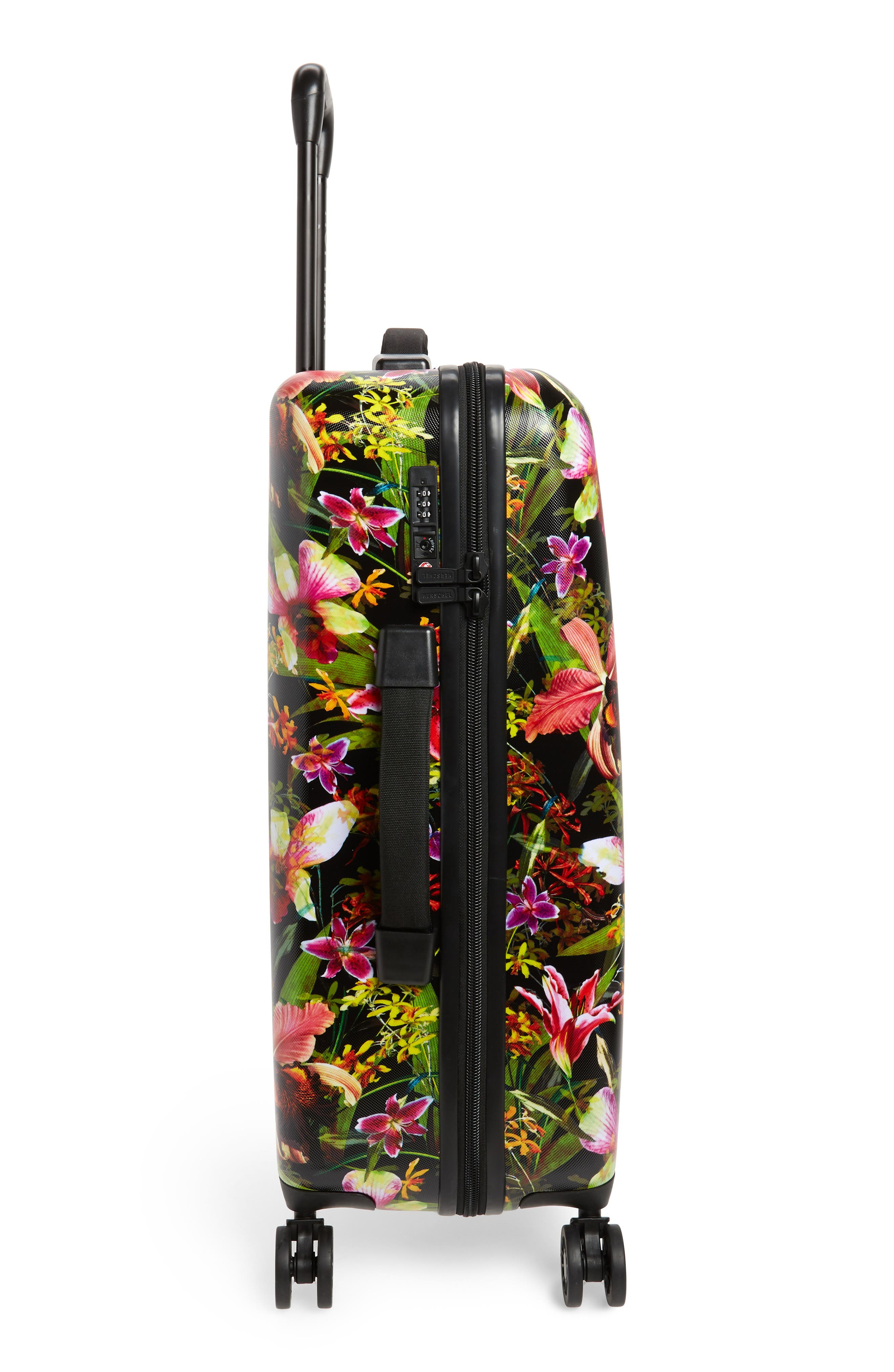 HERSCHEL SUPPLY CO., Trade 29-Inch Medium Wheeled Packing Case, Alternate thumbnail 3, color, JUNGLE HOFFMAN