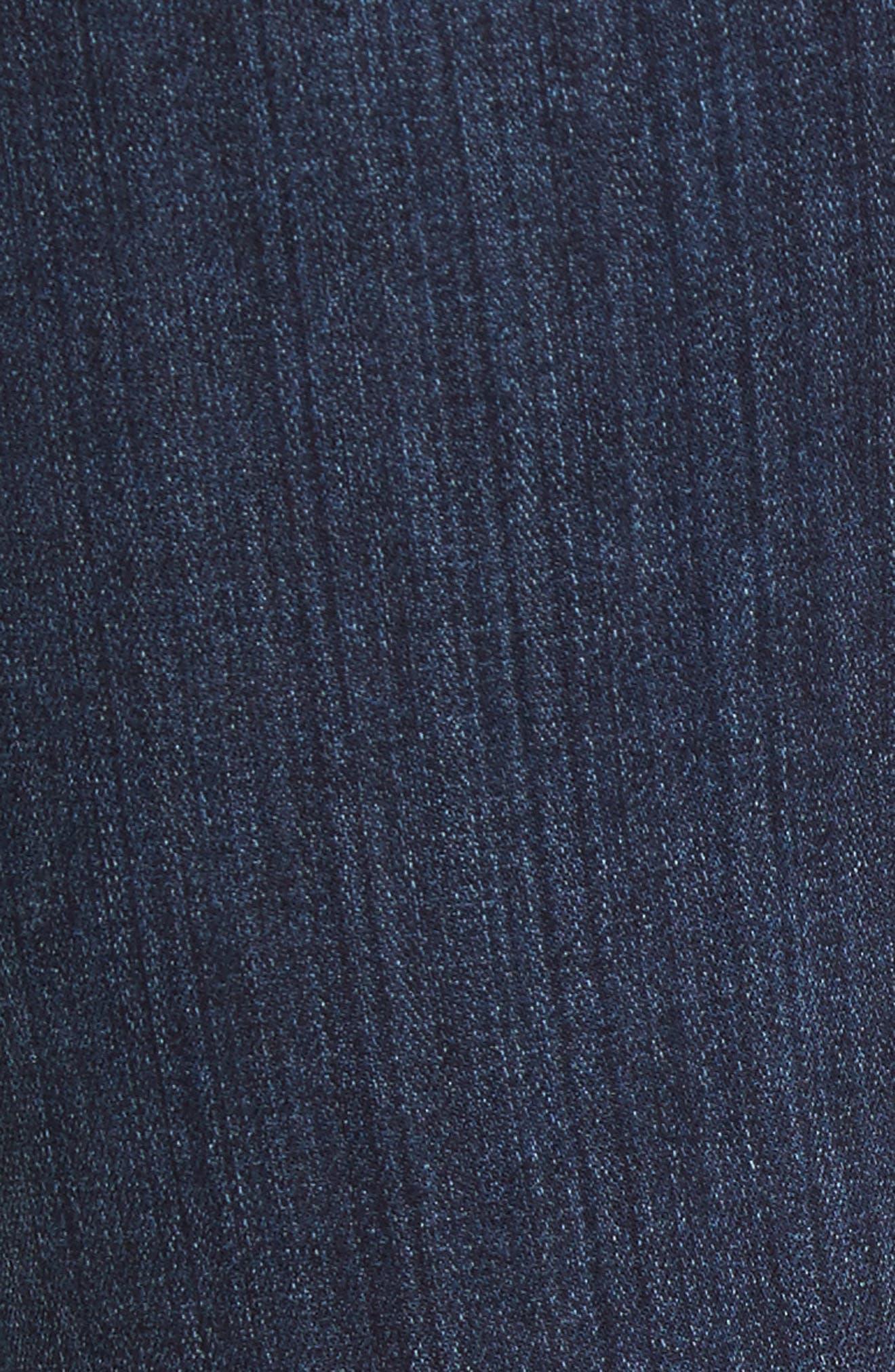 PAIGE, Hoxton High Waist Skinny Jeans, Alternate thumbnail 5, color, 400