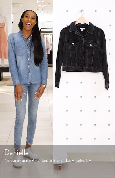 Fitted Denim Jacket, sales video thumbnail