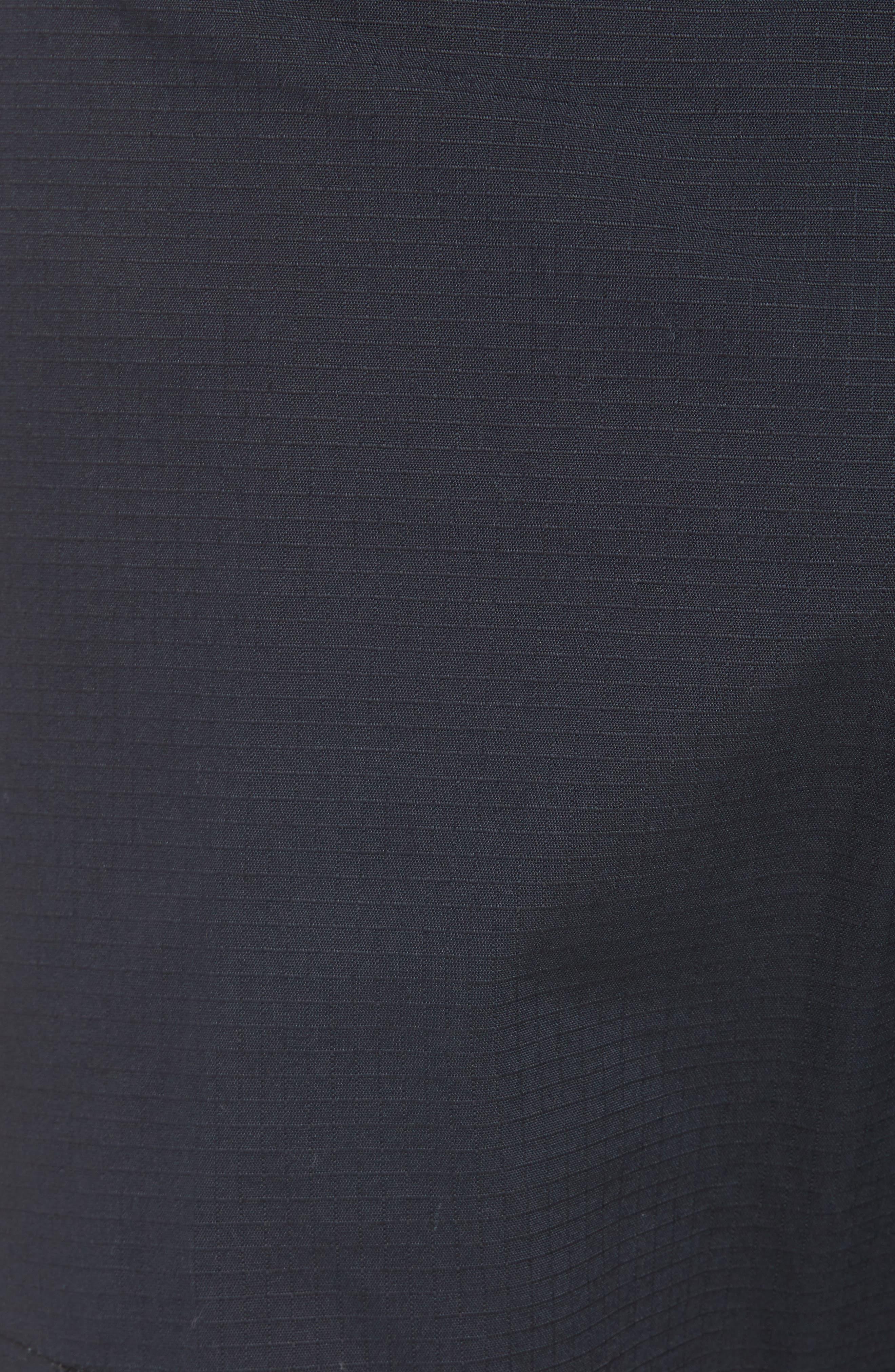 NIKE SB, Flex Cargo Pants, Alternate thumbnail 6, color, BLACK
