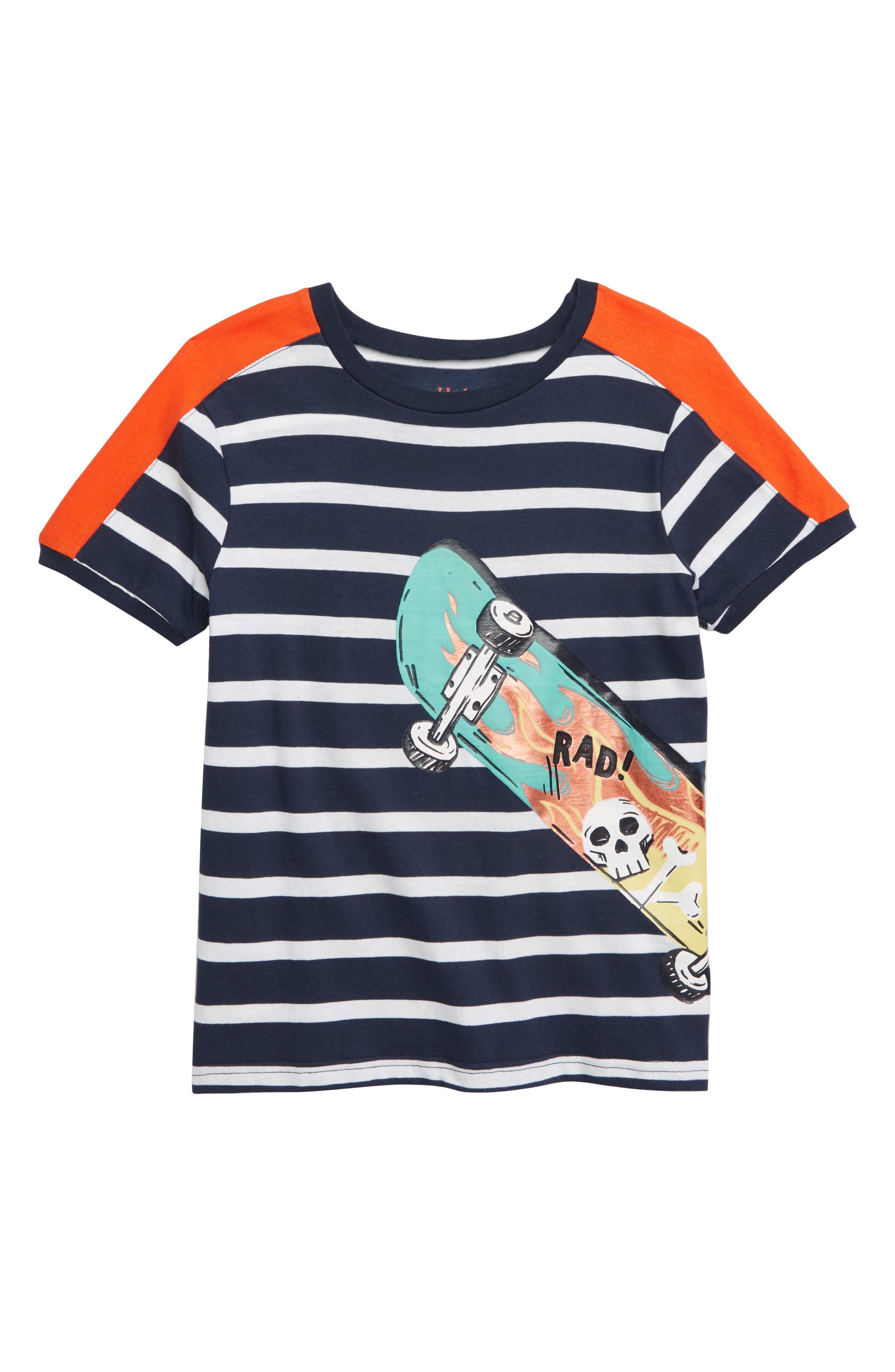 HATLEY, Cool Deck Graphic T-Shirt, Main thumbnail 1, color, BLUE