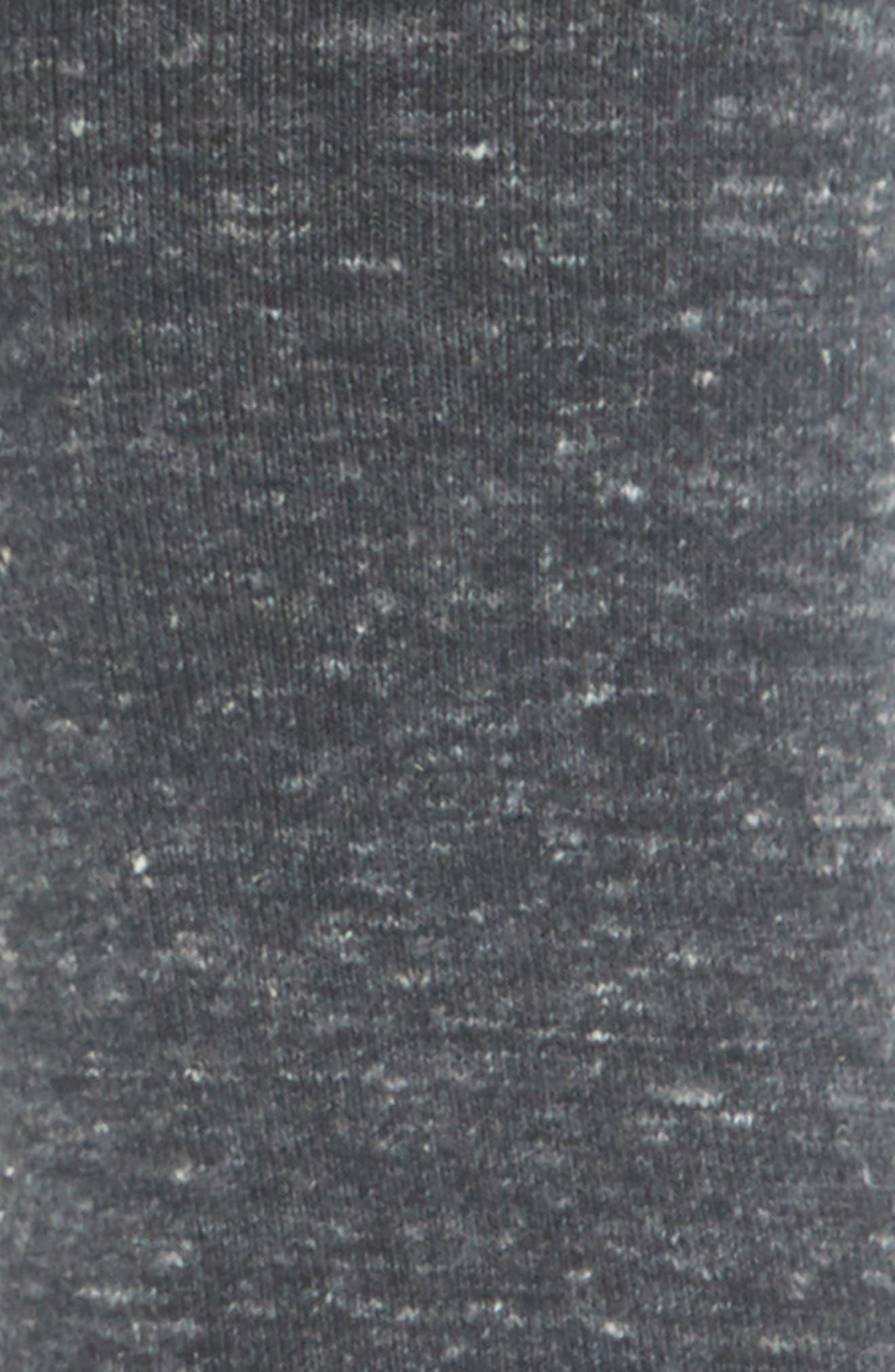 BOMBAS, Flat Knit Crew Socks, Alternate thumbnail 2, color, 011