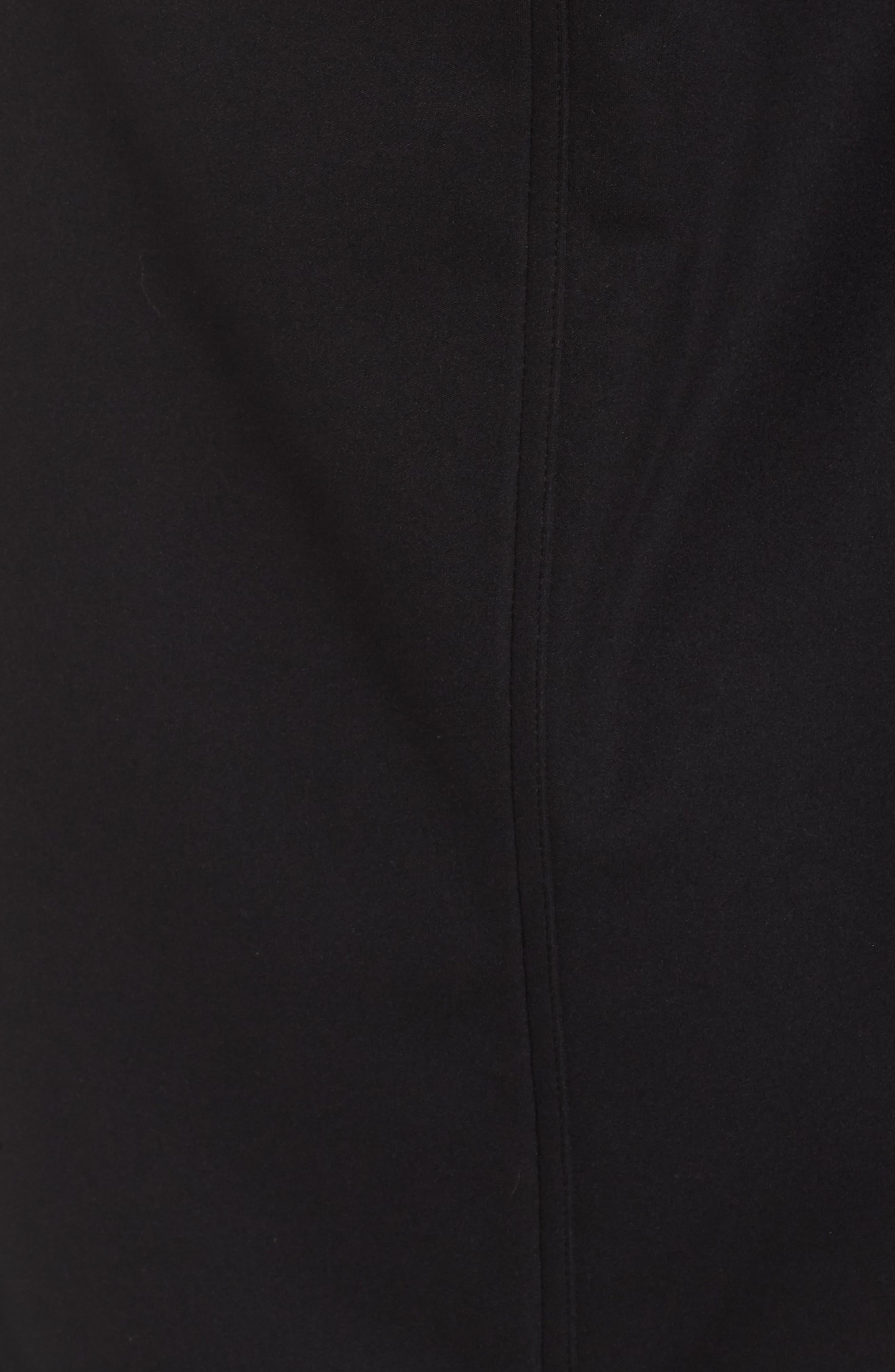 ZELLA, Aero Hooded Soft Shell Training Jacket, Alternate thumbnail 7, color, 001