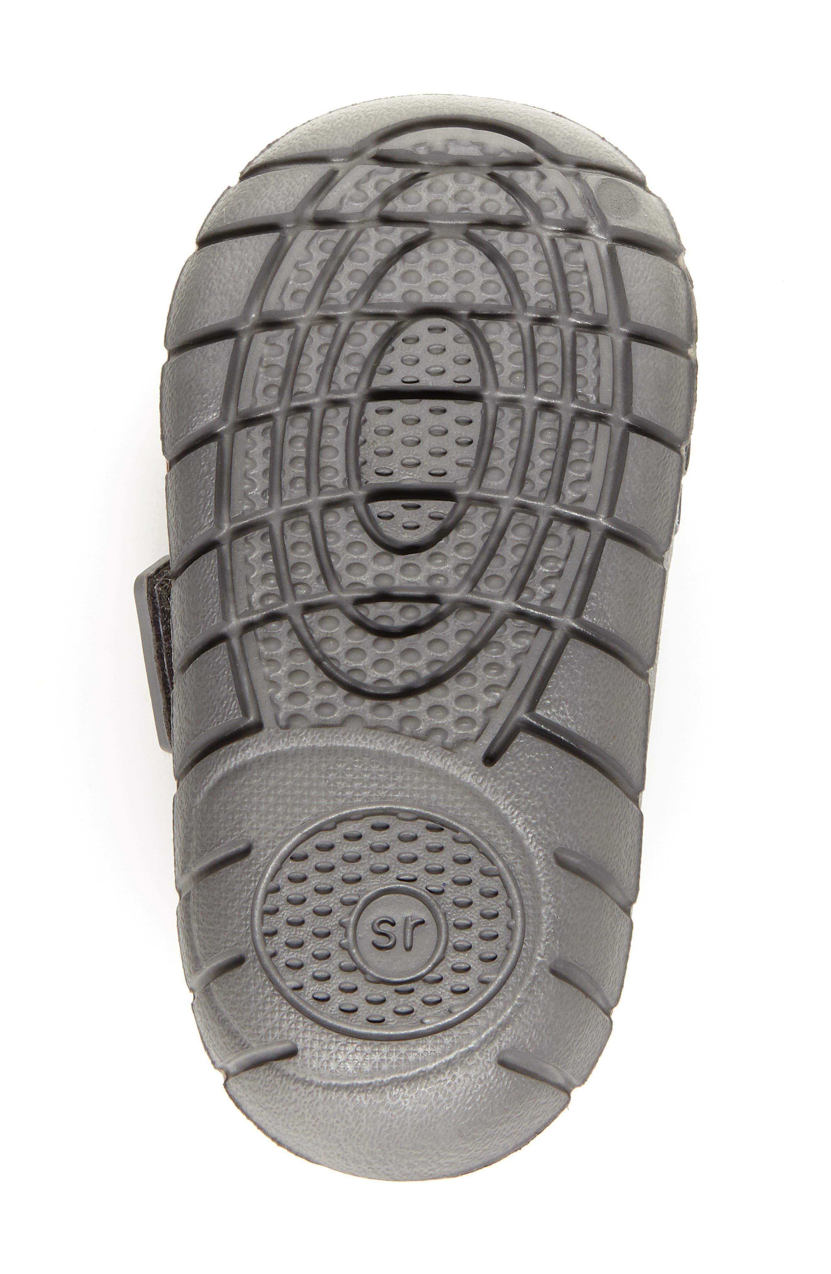 STRIDE RITE, Made2Play<sup>®</sup> Phibian Sneaker, Alternate thumbnail 5, color, GREY SHARK EVA