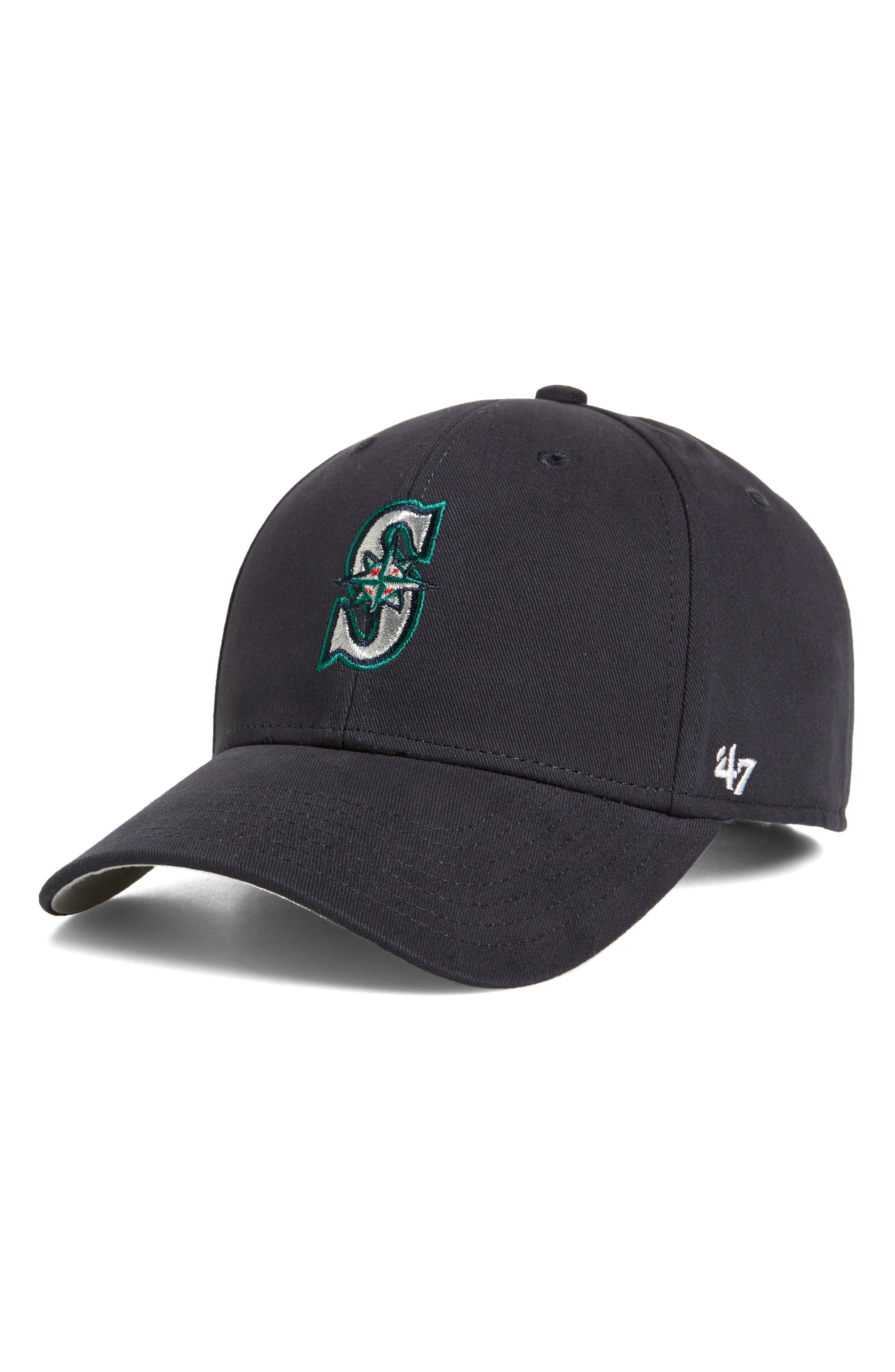 '47, Seattle Mariners Baseball Cap, Main thumbnail 1, color, HOME